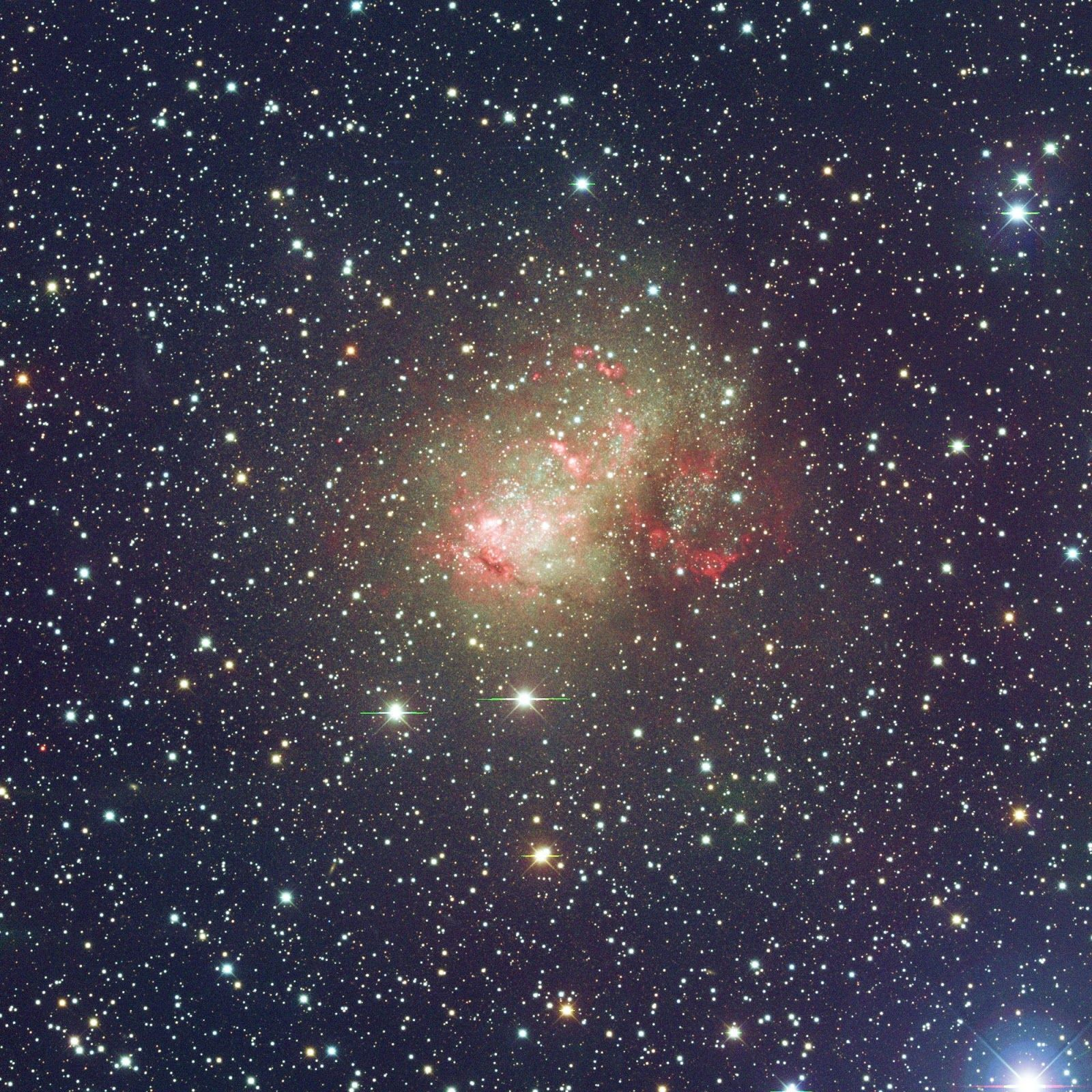 Hình nền thiên hà không thường xuyên 1600x1600