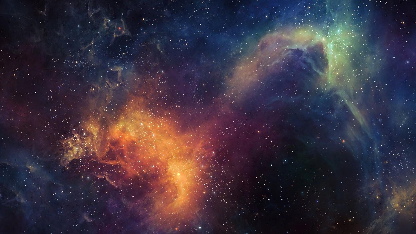1600x900 Stars Space hình nền