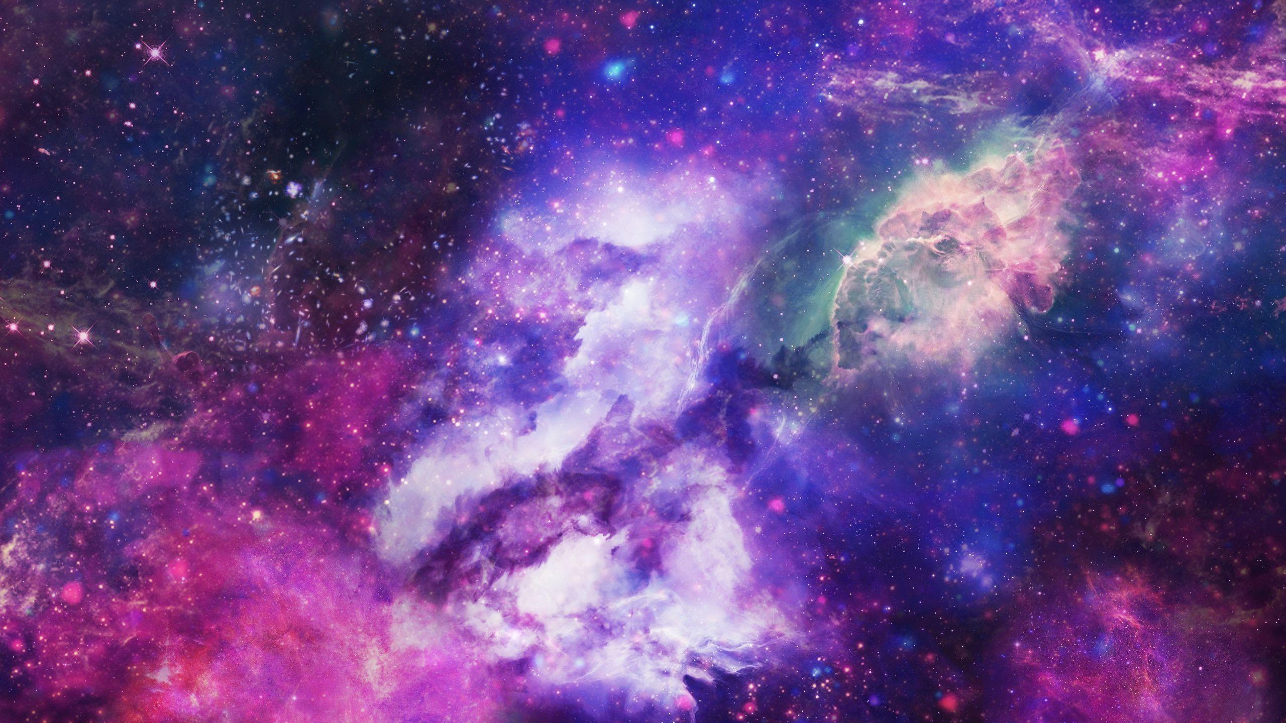 Thiên hà 2560x1440 - Không gian Sao Thiên hà