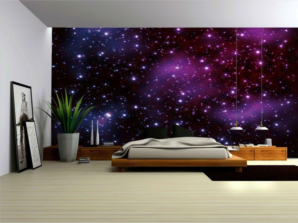 Hình nền in Galaxy 1024x768 cho phòng ngủ