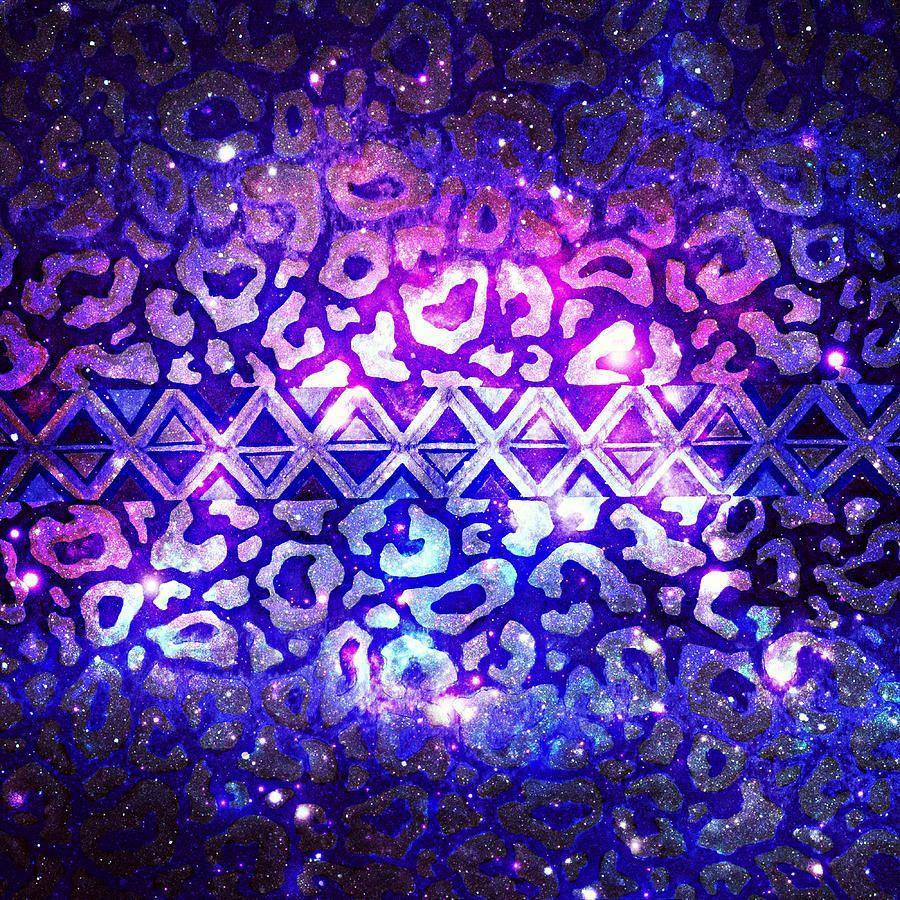 900x900 Bức tranh Galaxy Leopard của Bộ lạc của Julia Di Sano