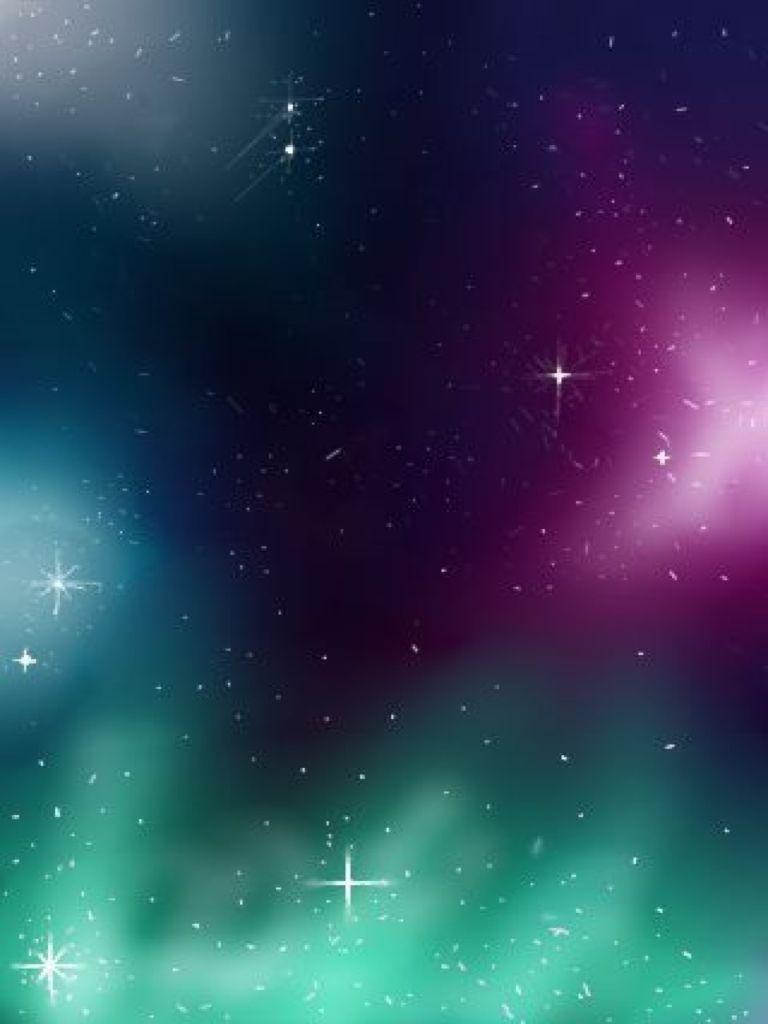 768x1024 Hình nền thiên hà mát mẻ