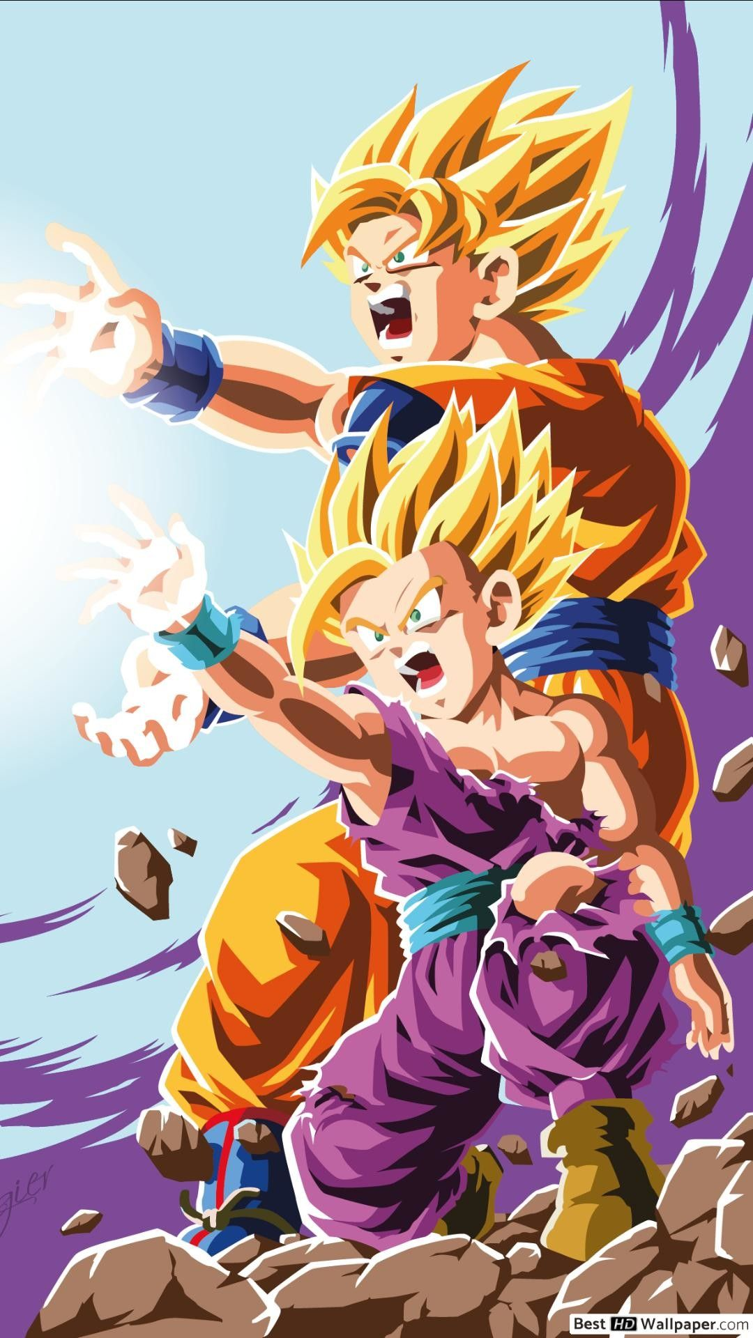 Gohan Iphone Wallpapers Top Free Gohan Iphone Backgrounds