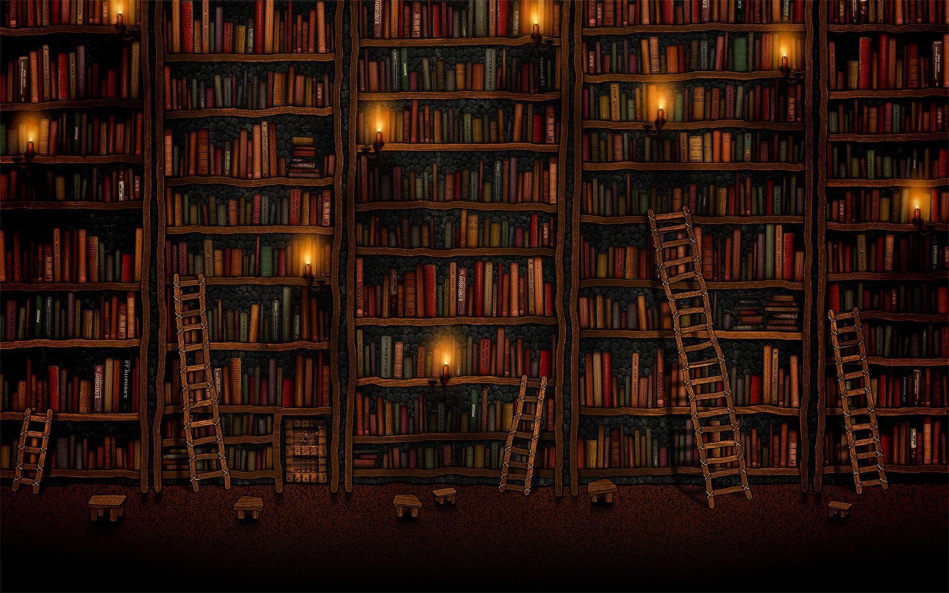 Bookshelf Wallpapers Top Free Bookshelf Backgrounds Wallpaperaccess