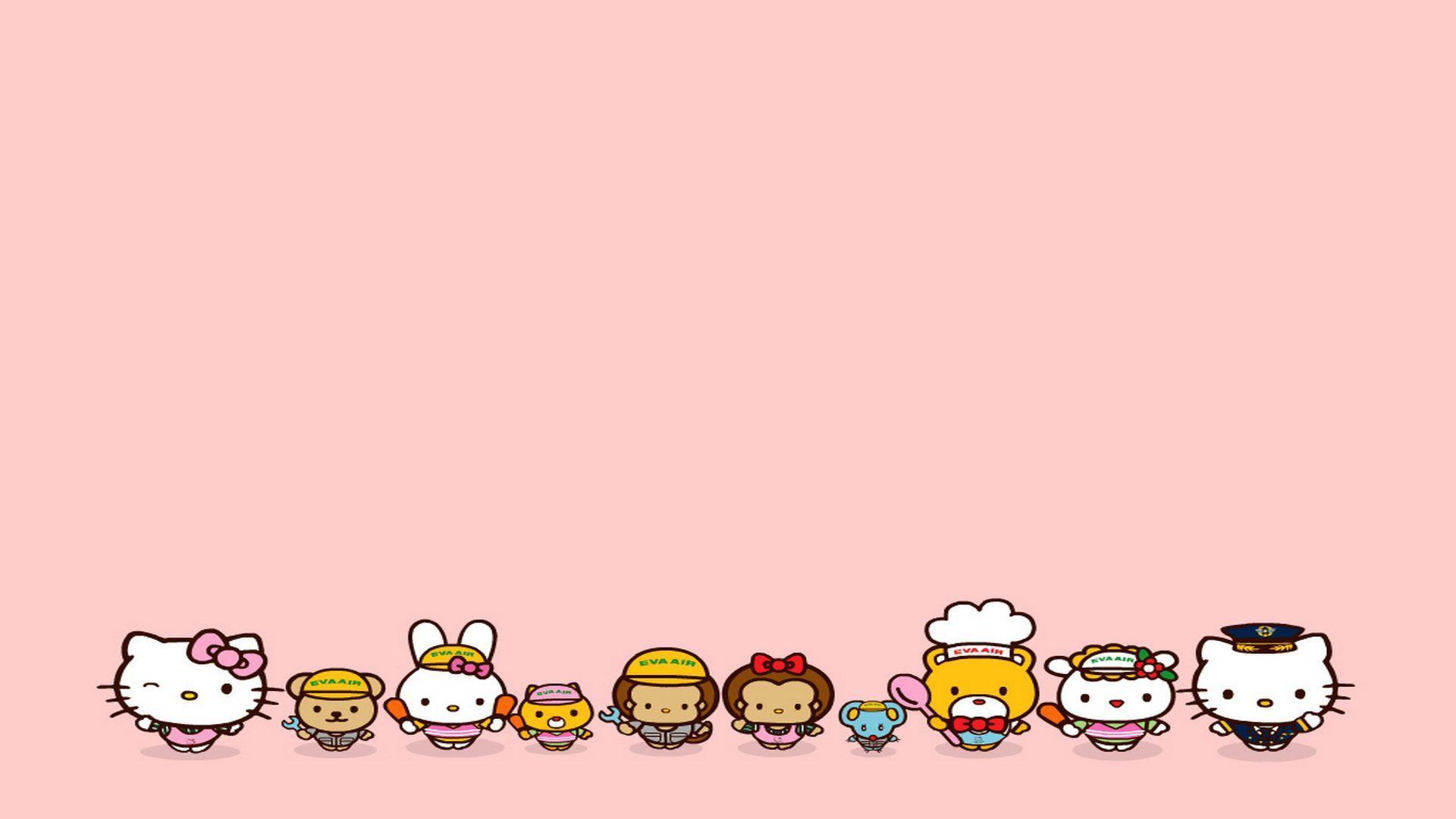 Hello Kitty Desktop Wallpapers Top Free Hello Kitty Desktop