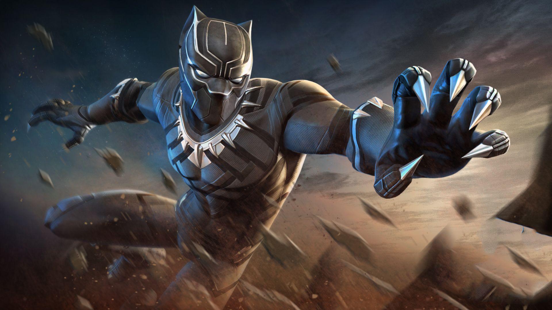 Black Panther Marvel Wallpapers Top Free Black Panther Marvel Backgrounds Wallpaperaccess