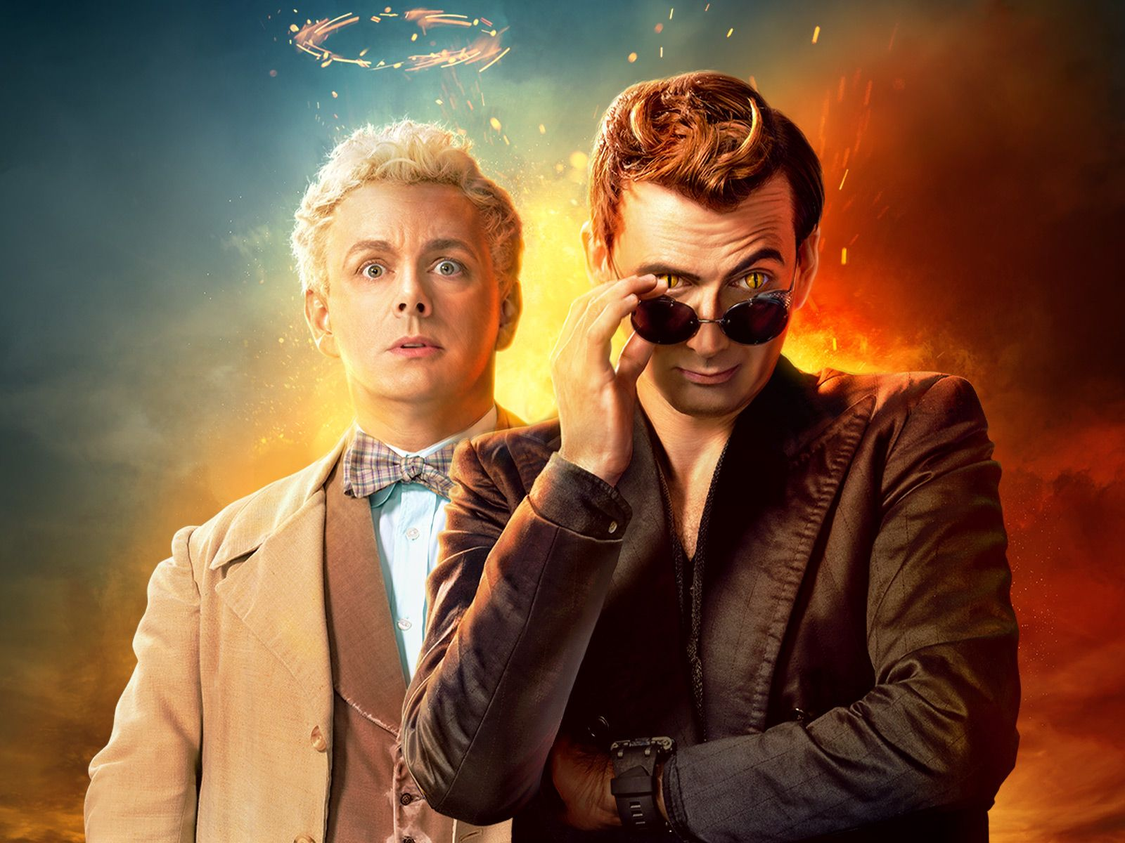 Good Omens Wallpapers - Top Free Good Omens Backgrounds ...