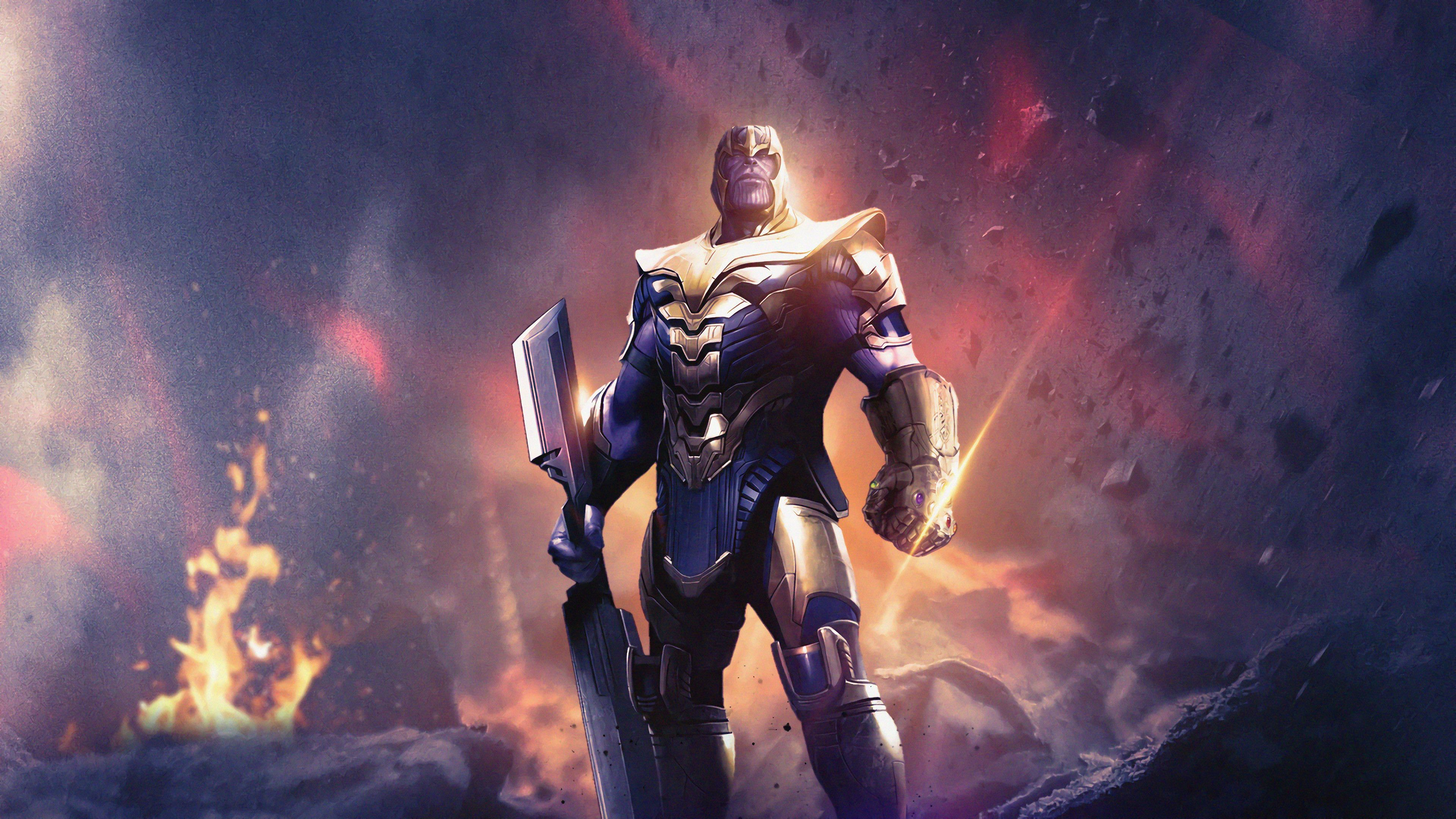 Thanos Sword Wallpapers Top Free Thanos Sword Backgrounds Wallpaperaccess