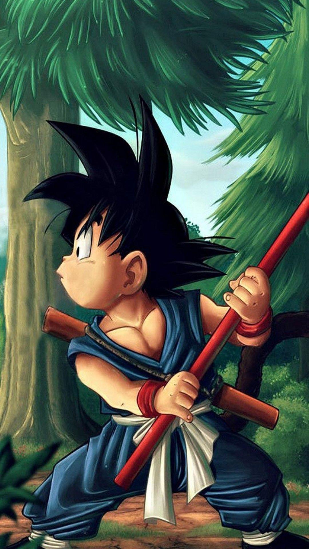 Dragon Ball Kid Goku Wallpaper Iphone