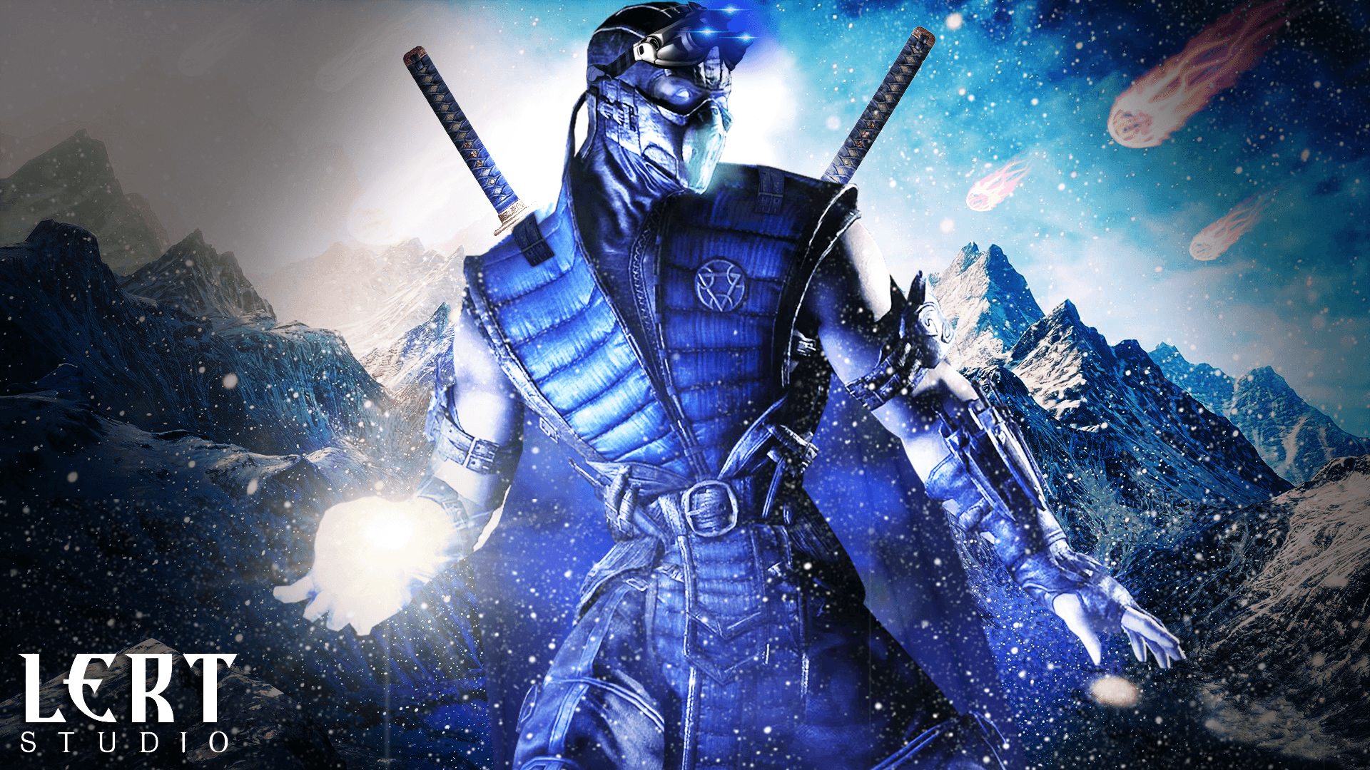 mortal kombat 11 sub zero fan art