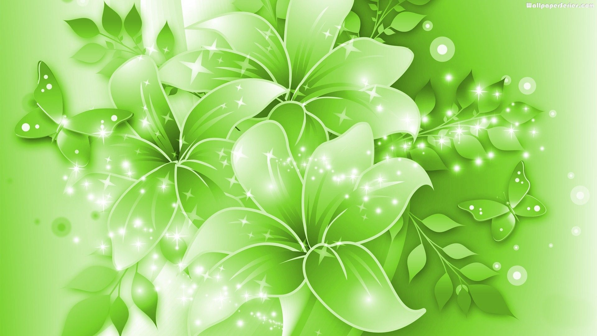 Green Flower Wallpapers Top Free Green Flower Backgrounds