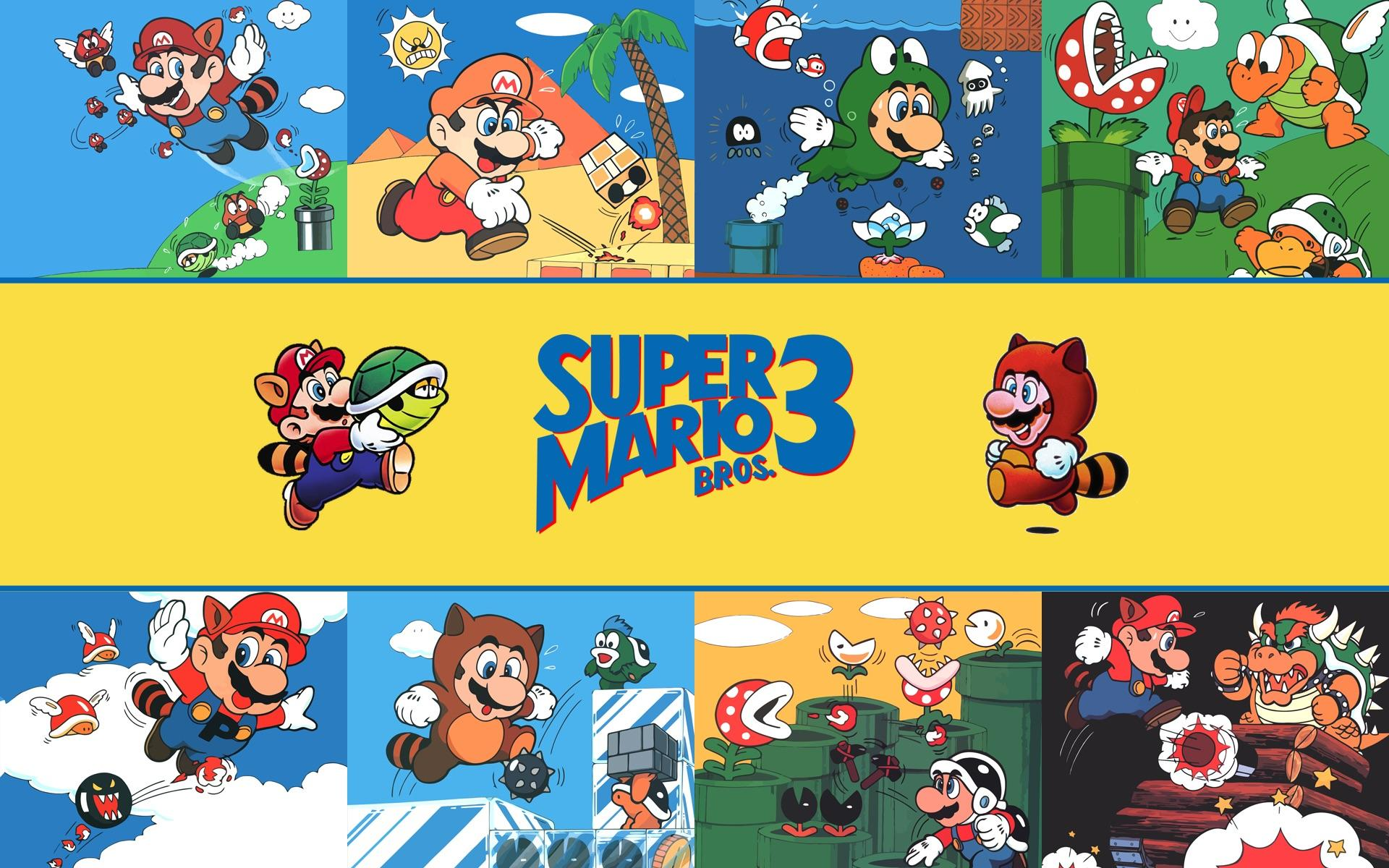 Super Mario Bros 3 Wallpapers - Top