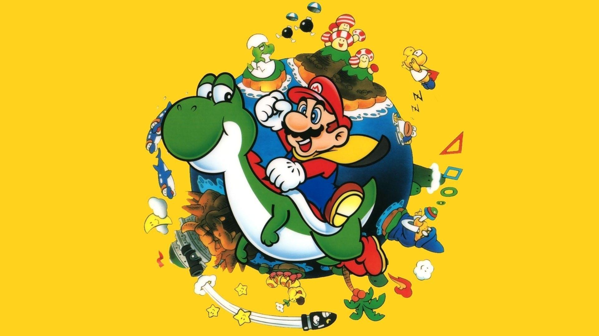 Super Mario World Wallpapers Top Free Super Mario World