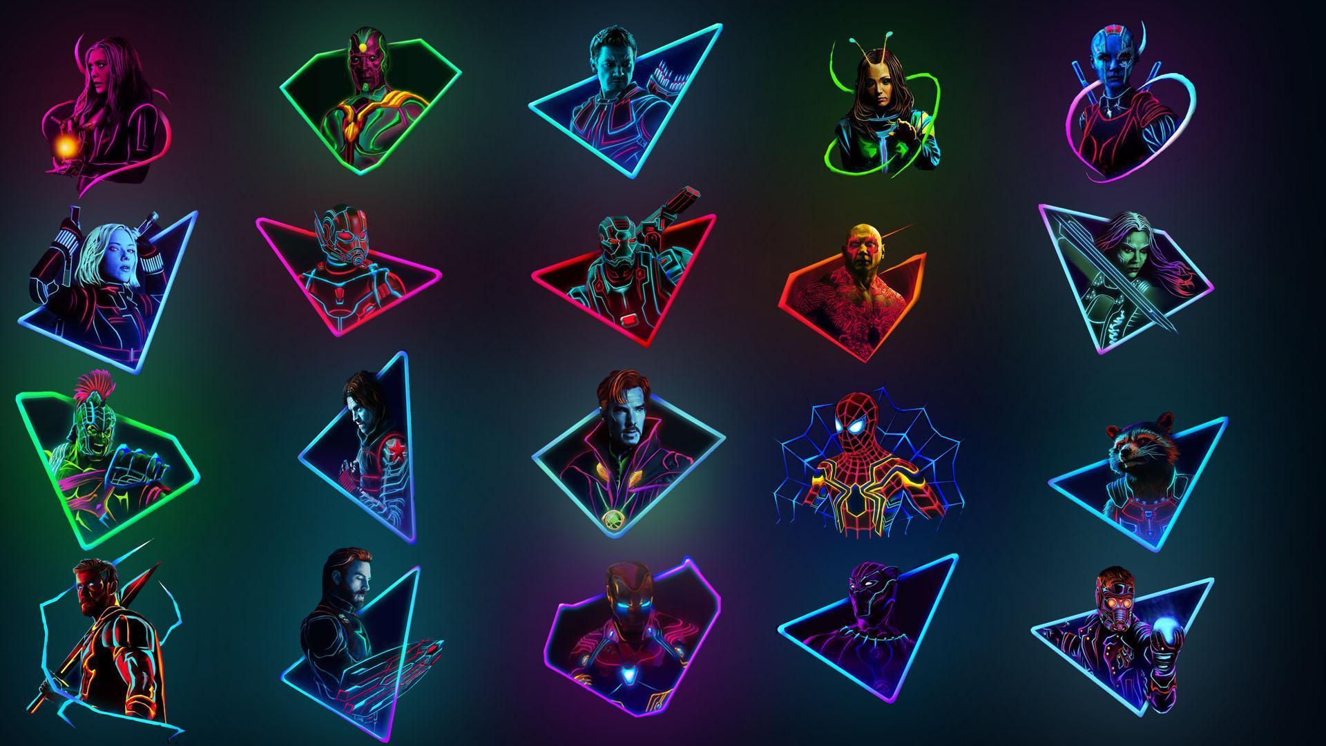 Neon Art Wallpapers Top Free Neon Art Backgrounds Wallpaperaccess