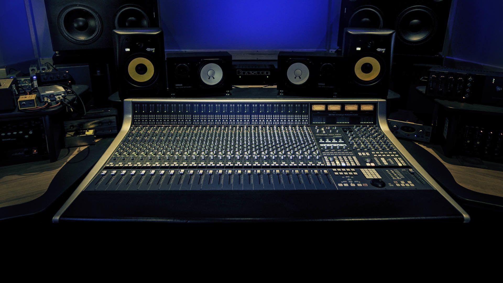 Recording Studio Wallpapers Top Free Recording Studio Backgrounds Wallpaperaccess