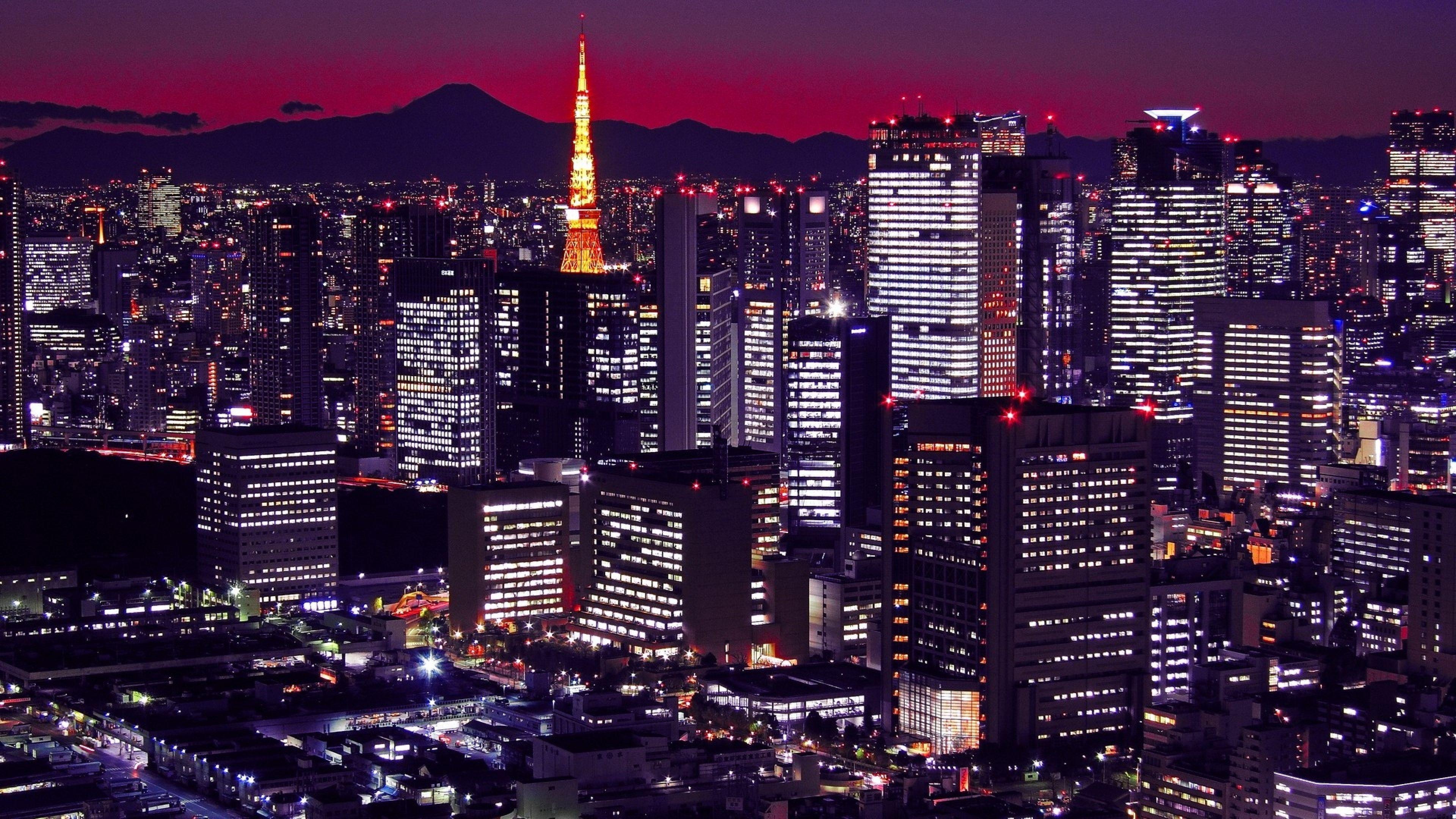 Tokyo 4k Wallpapers Top Free Tokyo 4k Backgrounds Wallpaperaccess