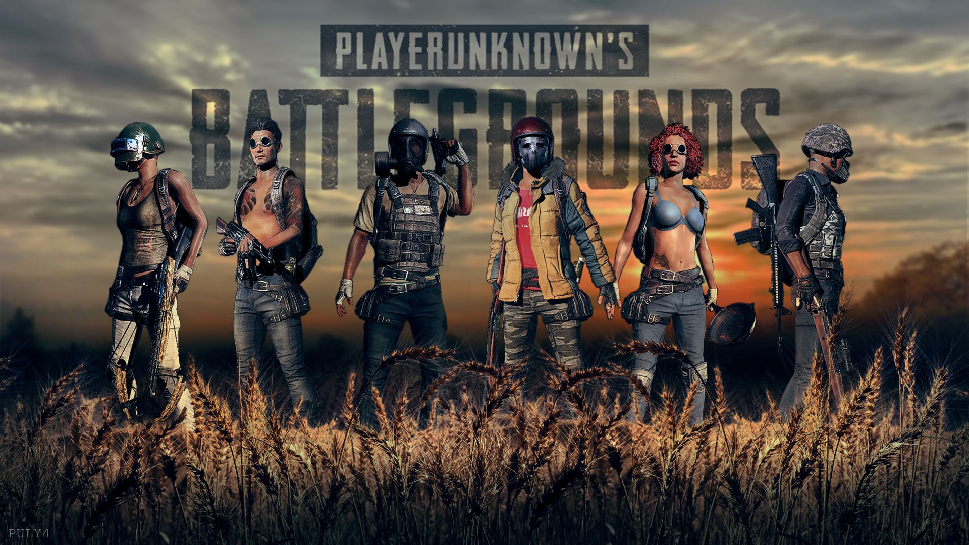 X Playerunknowns Battlegrounds