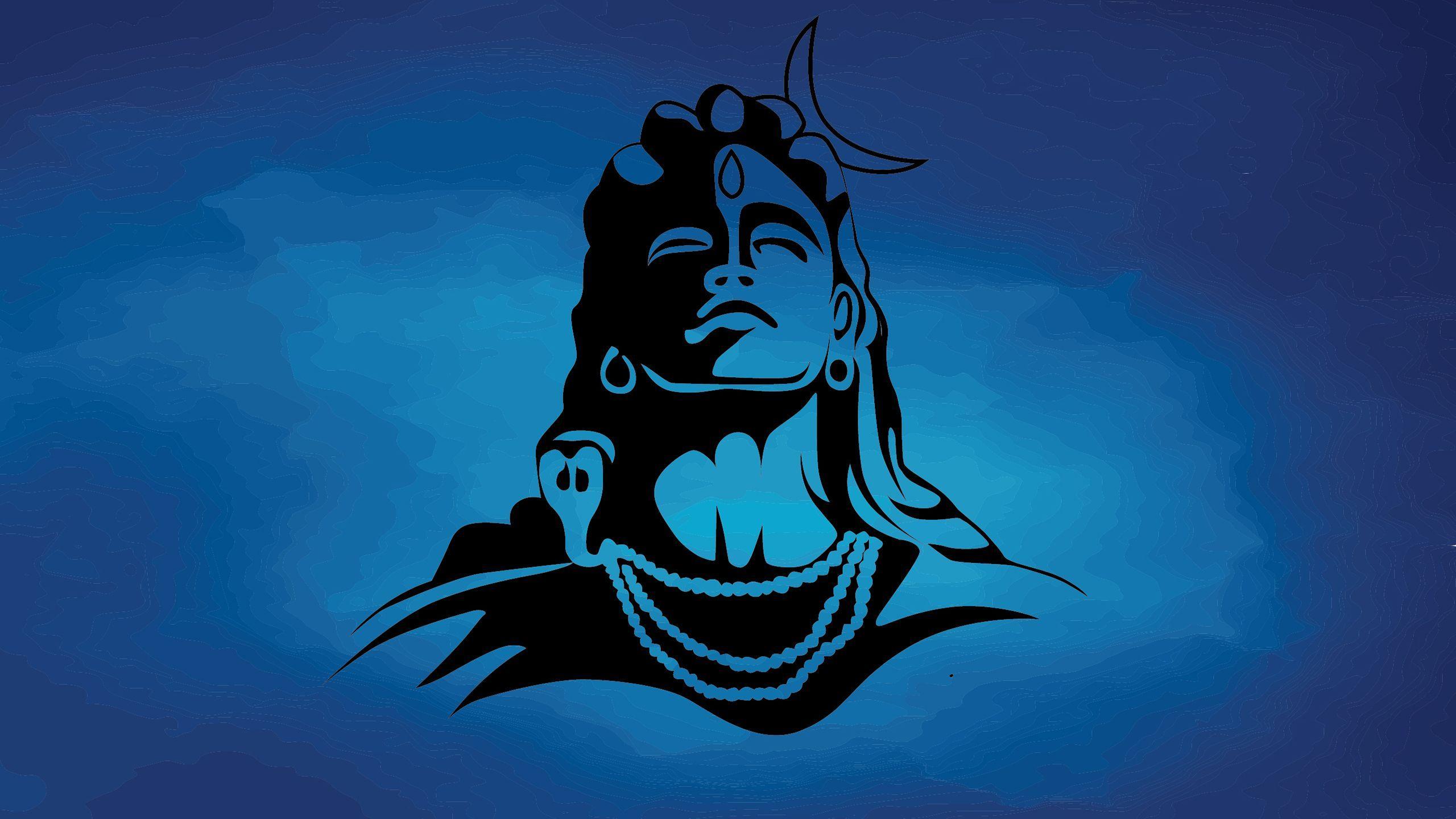 2560x1440 Hình nền Chúa Shiva 4K