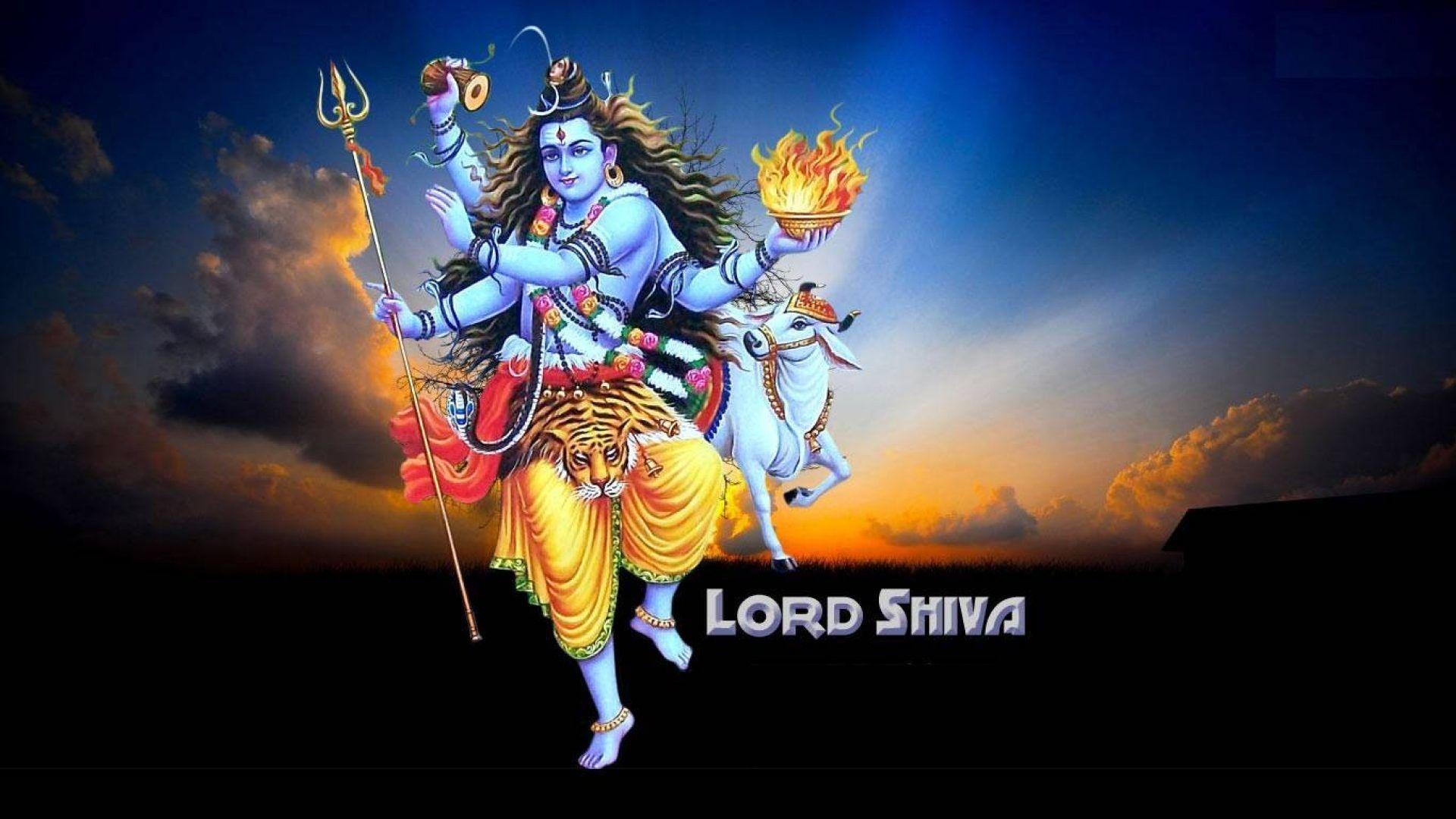 1920x1080 Chúa Shiva hình nền