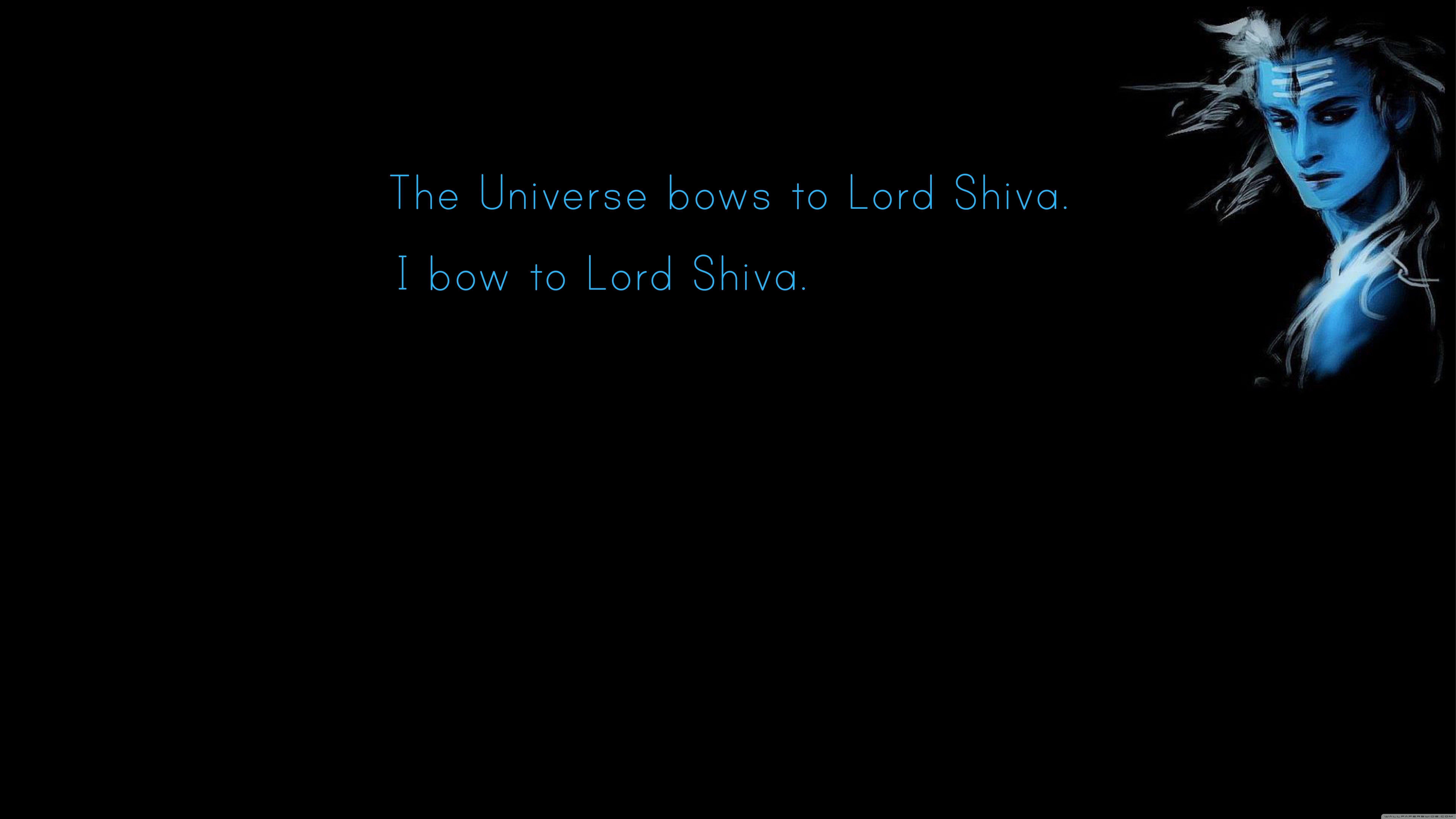 Hình nền máy tính siêu HD 7680x4320 Chúa Shiva cho 4K UHD