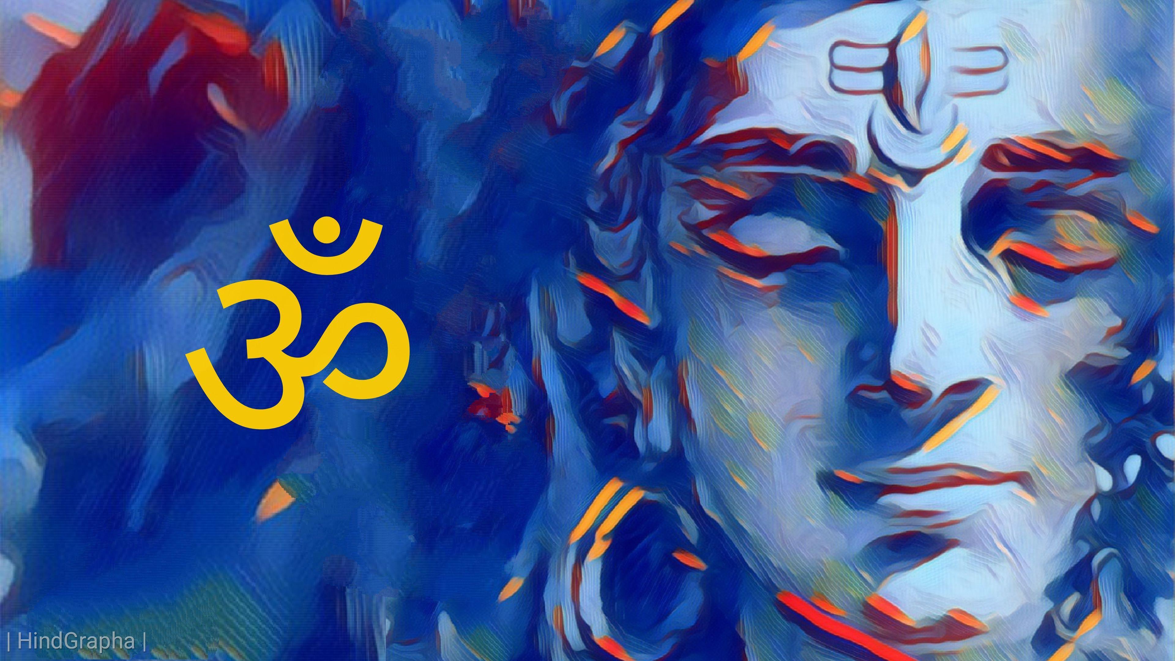 Hình nền HD 3840x2160 Chúa Shiva 4k