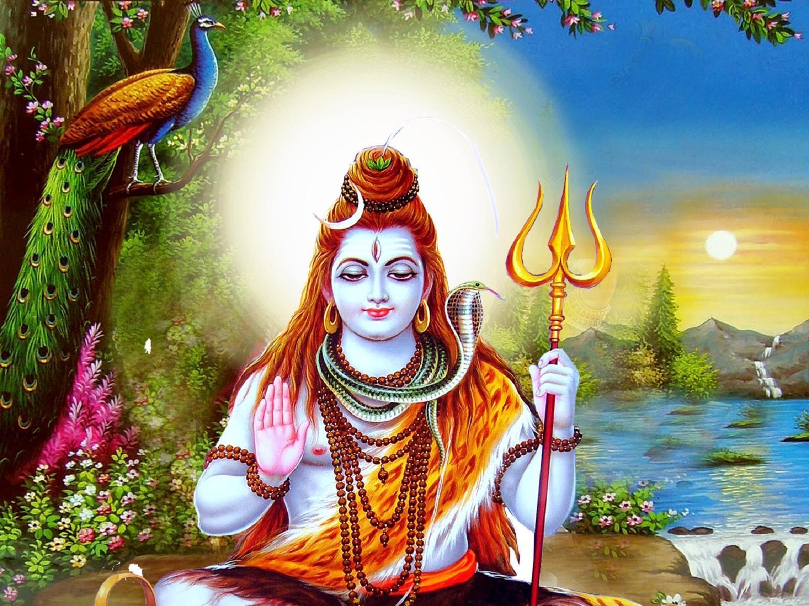 1600x1200 Chúa Shiva Hình nền HD 4K cho Android