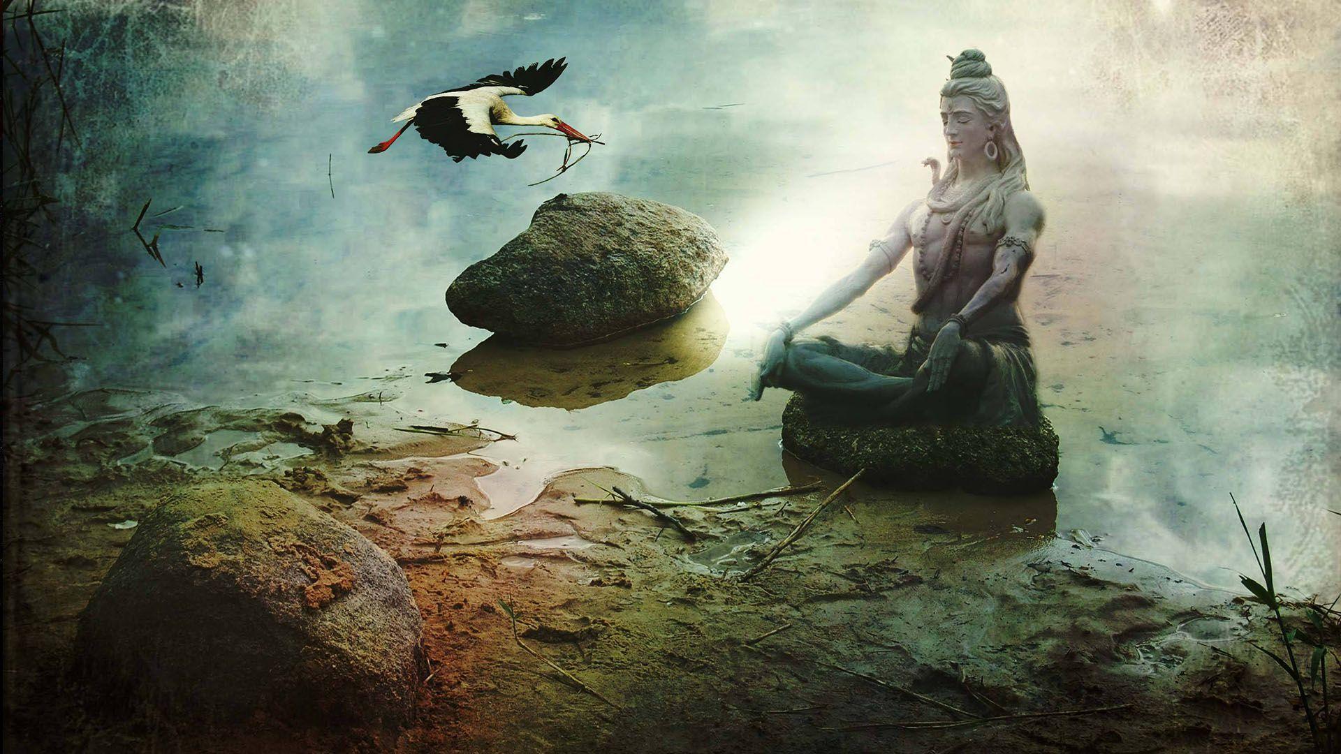 1920x1080 Chúa Shiva Hình nền HD 1920 × 1080 Tải xuống - Shiva