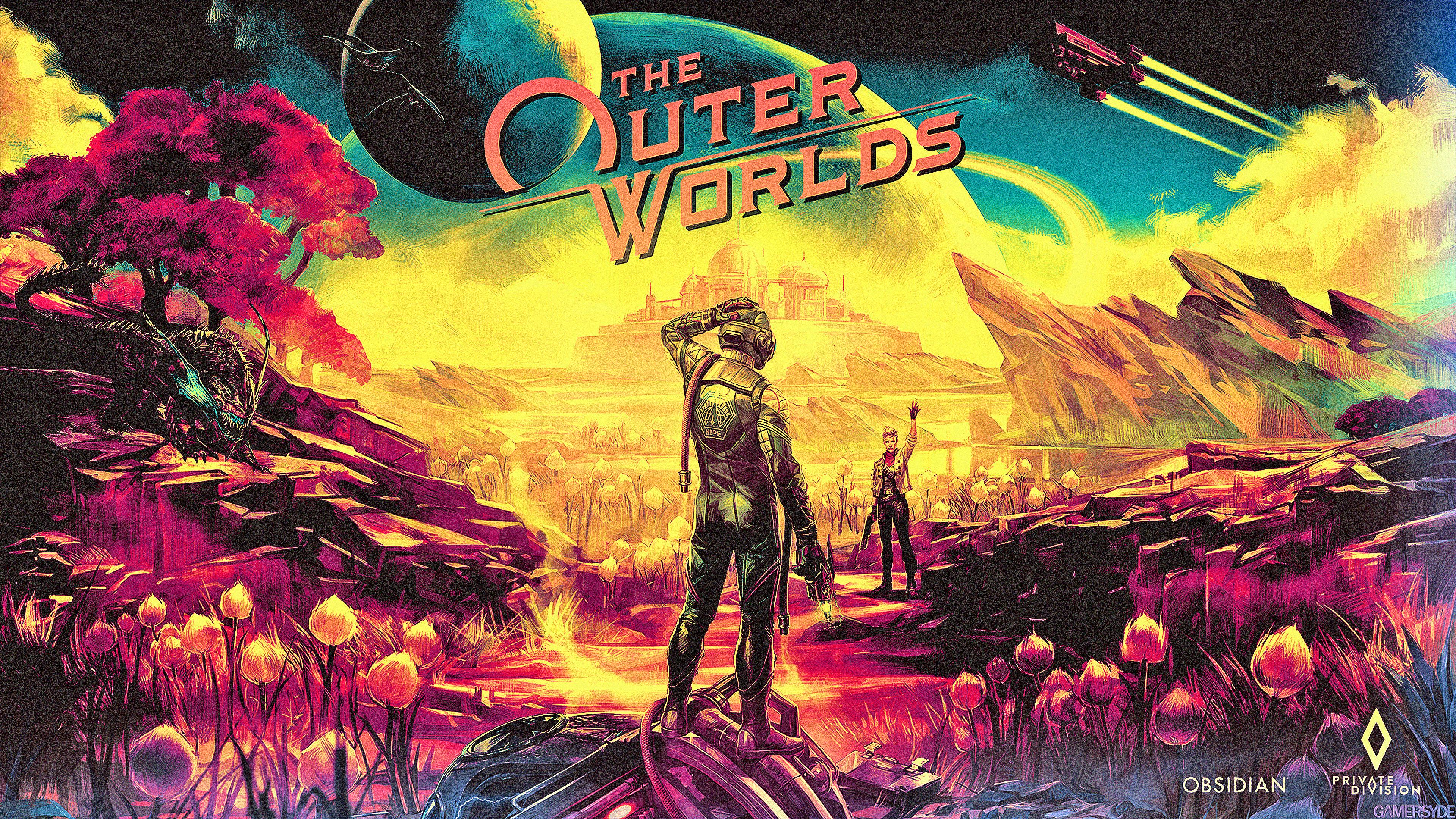 The Outer Worlds Wallpapers Top Free The Outer Worlds