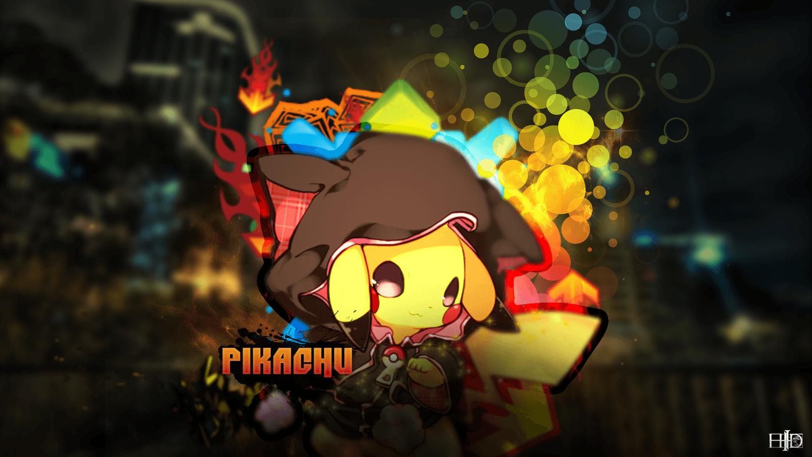 Hình nền Pikachu 1600x900 (24)