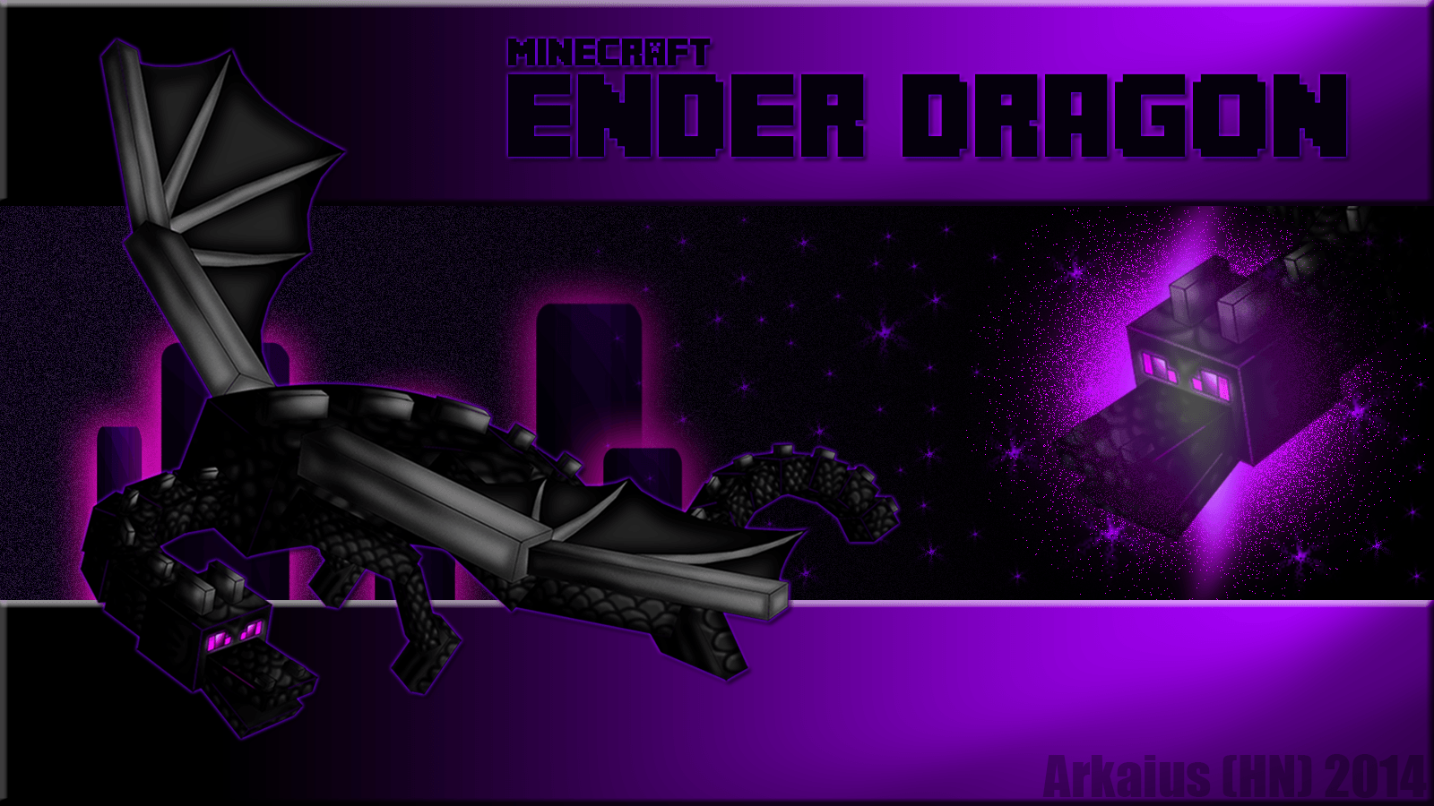 Minecraft Ender Dragon Wallpapers Top Free Minecraft Ender Dragon Backgrounds Wallpaperaccess