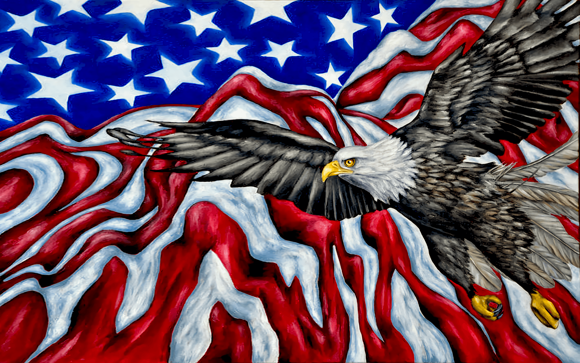 American Flag Eagles Wallpapers Top Free American Flag Eagles