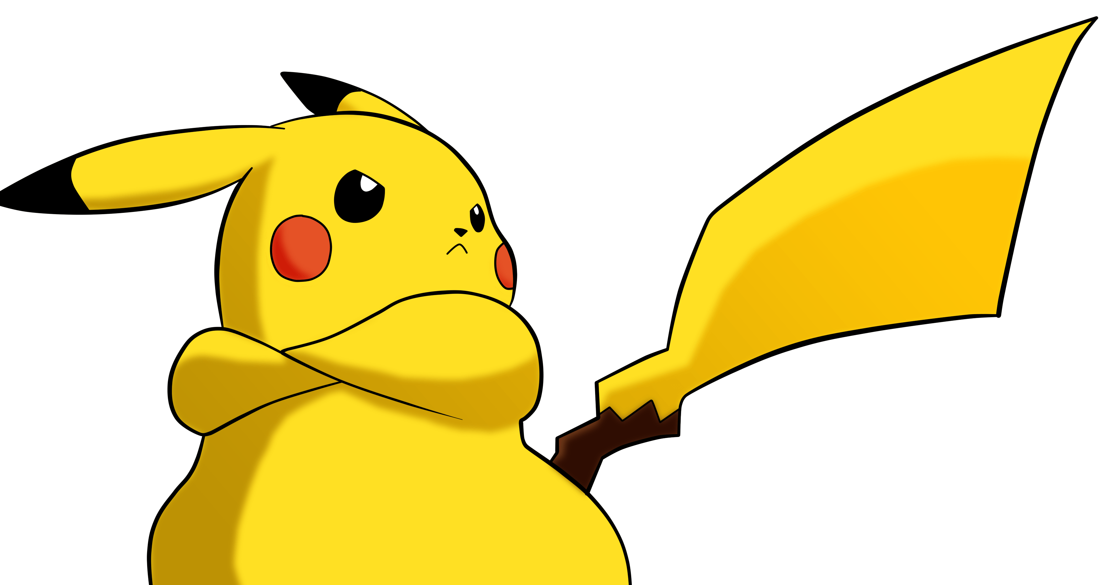Angry Pikachu Wallpapers Top Free Angry Pikachu Backgrounds