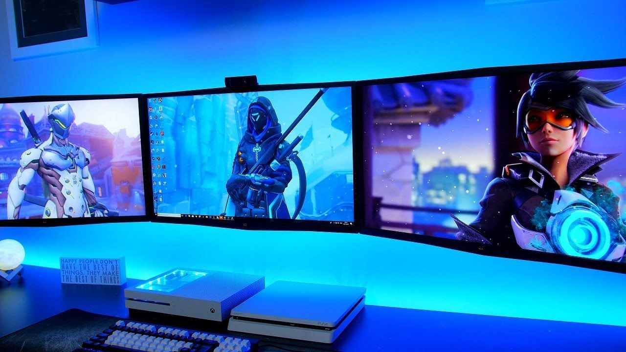 Gaming Setup Wallpapers Top Free Gaming Setup Backgrounds Wallpaperaccess