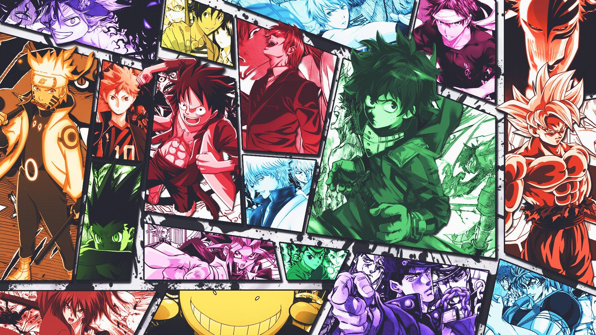 Shonen Jump Wallpapers Top Free Shonen Jump Backgrounds Wallpaperaccess