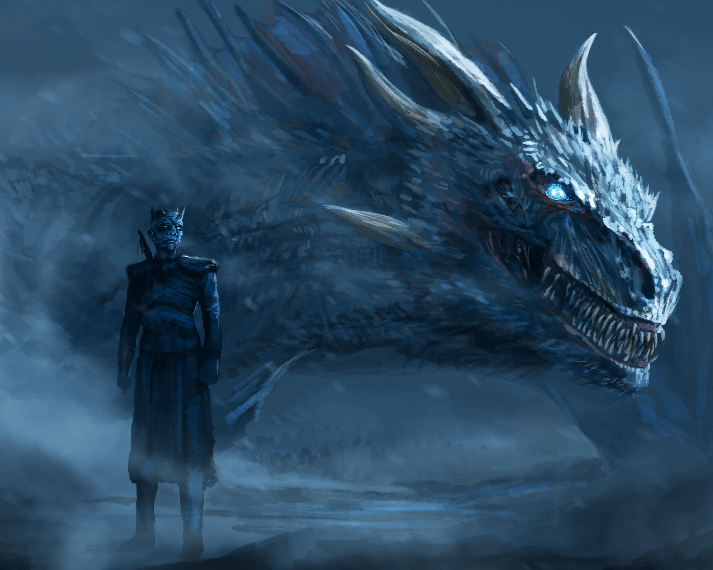 Ice Dragon Game Of Thrones Wallpapers Top Free Ice Dragon Game Of