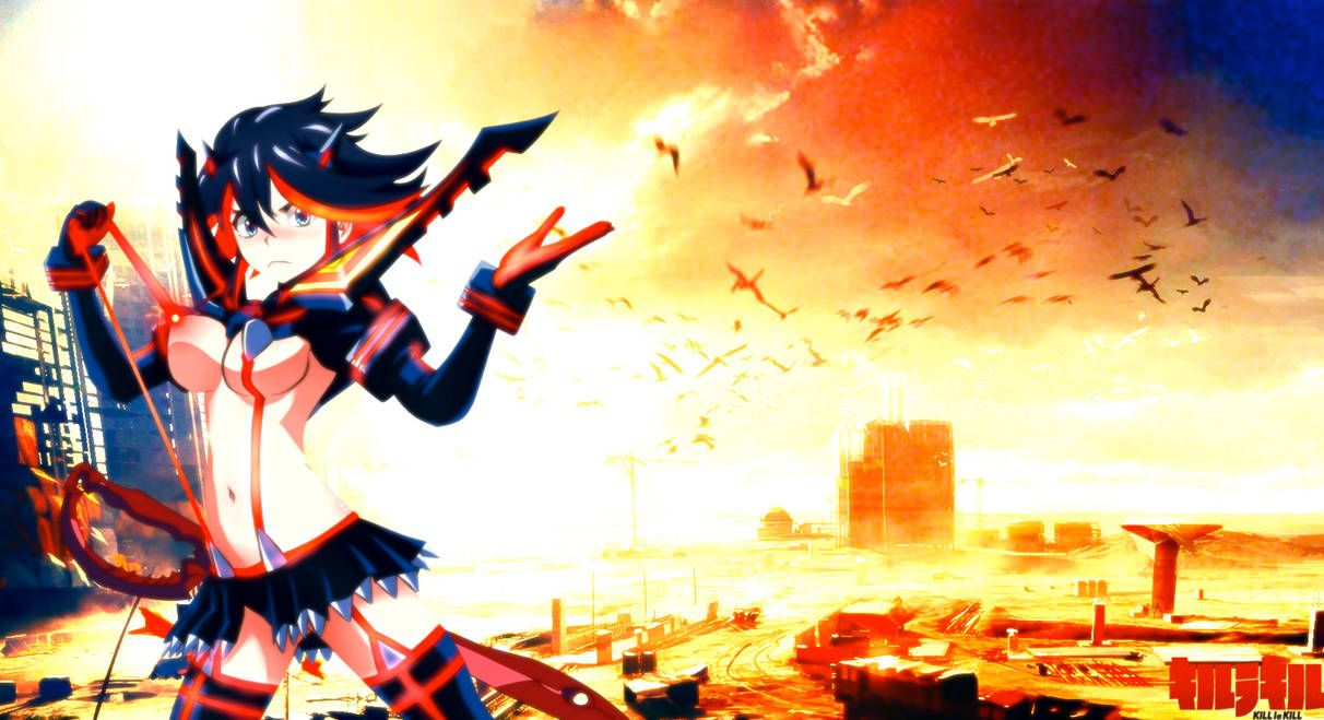 Ryuko Matoi Wallpapers Top Free Ryuko Matoi Backgrounds