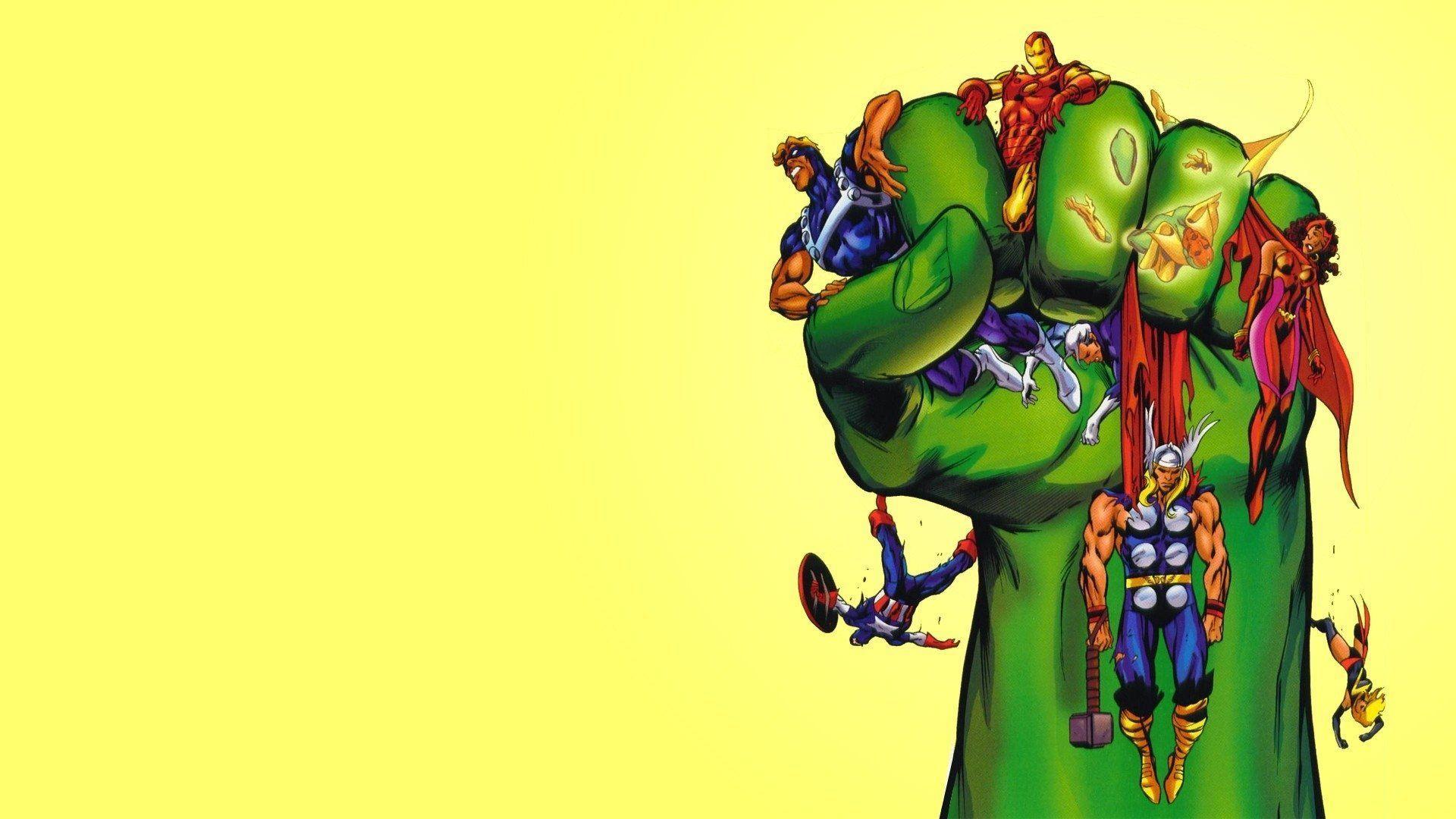 63 Best Free Marvel Cartoon Wallpapers
