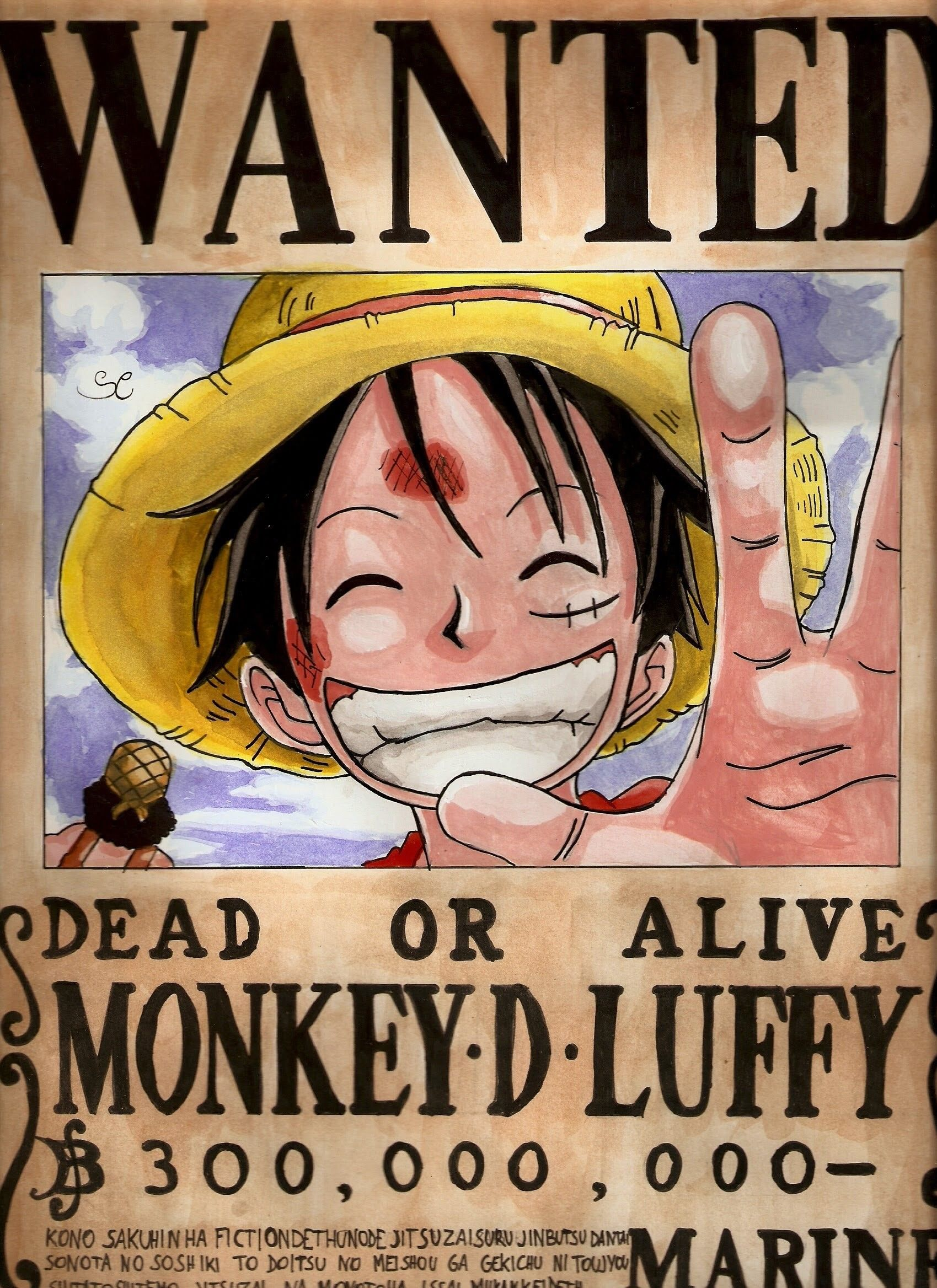 One Piece Wanted Wallpapers Top Free One Piece Wanted