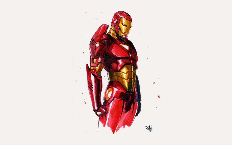 Marvel cartoon wallpapers top free marvel cartoon - Iron man cartoon wallpaper ...