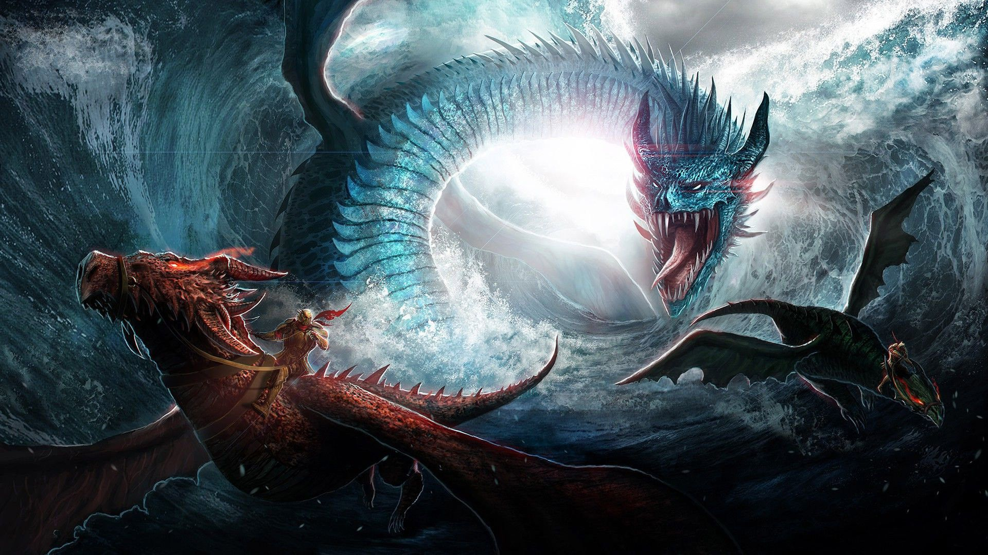 Ice Dragon Game Of Thrones Wallpapers