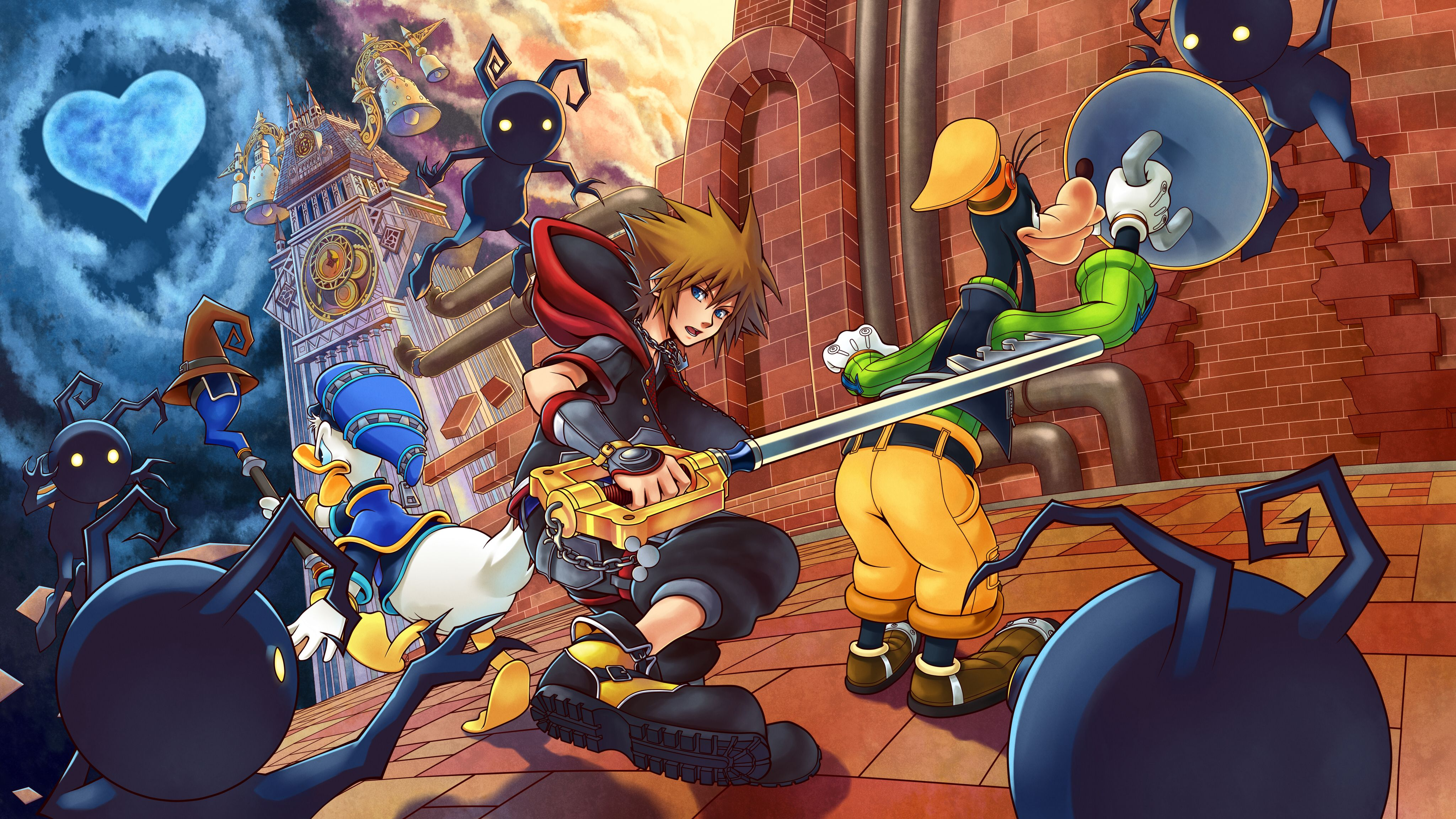 Kingdom Hearts 4k Wallpapers Top Free Kingdom Hearts 4k