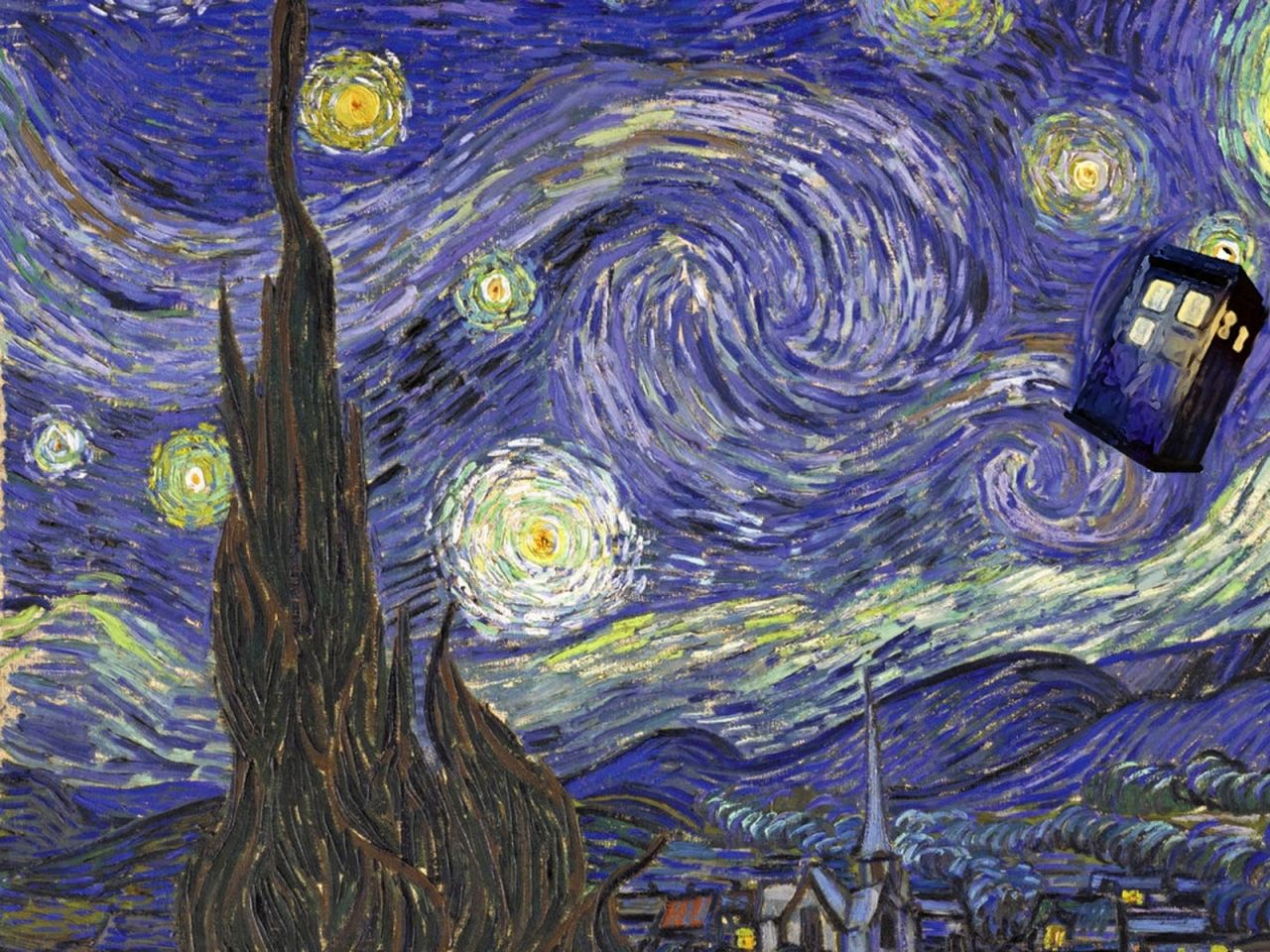 Dr Who Van Gogh Wallpapers Top Free Dr Who Van Gogh Backgrounds