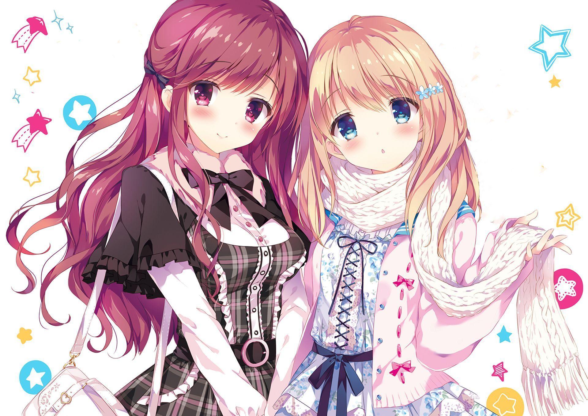 Cute Anime Friends Wallpapers Top Free Cute Anime Friends Backgrounds Wallpaperaccess