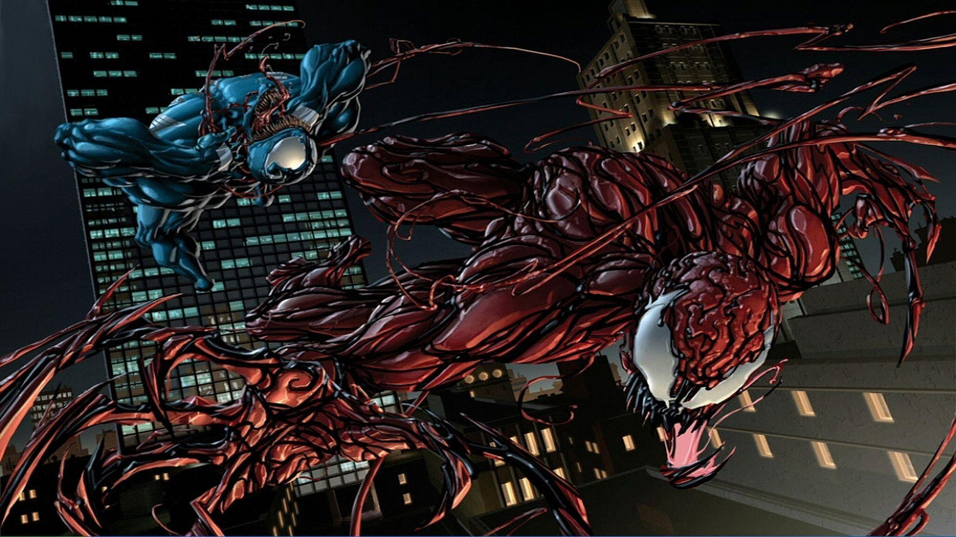 Venom Vs Carnage Wallpapers Top Free Venom Vs Carnage