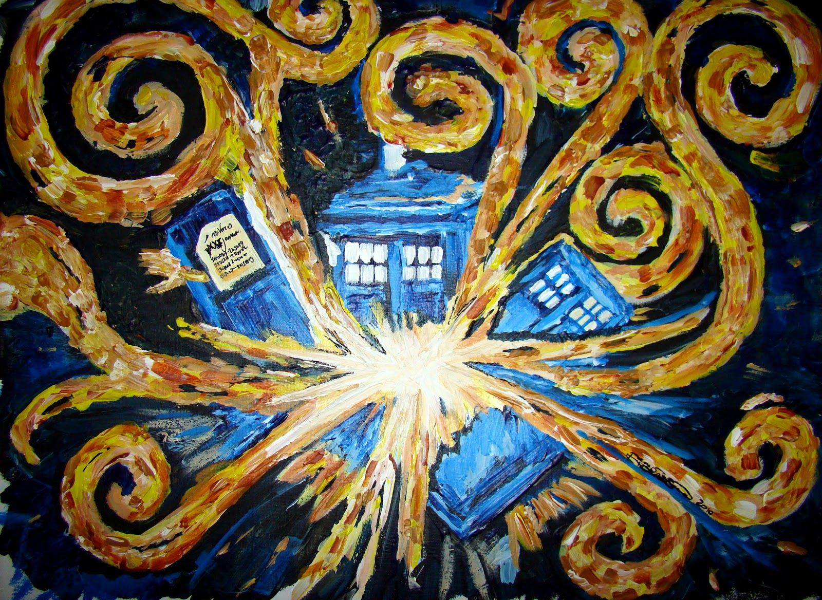 Van Gogh Dr Who Wallpapers Top Free Van Gogh Dr Who Backgrounds