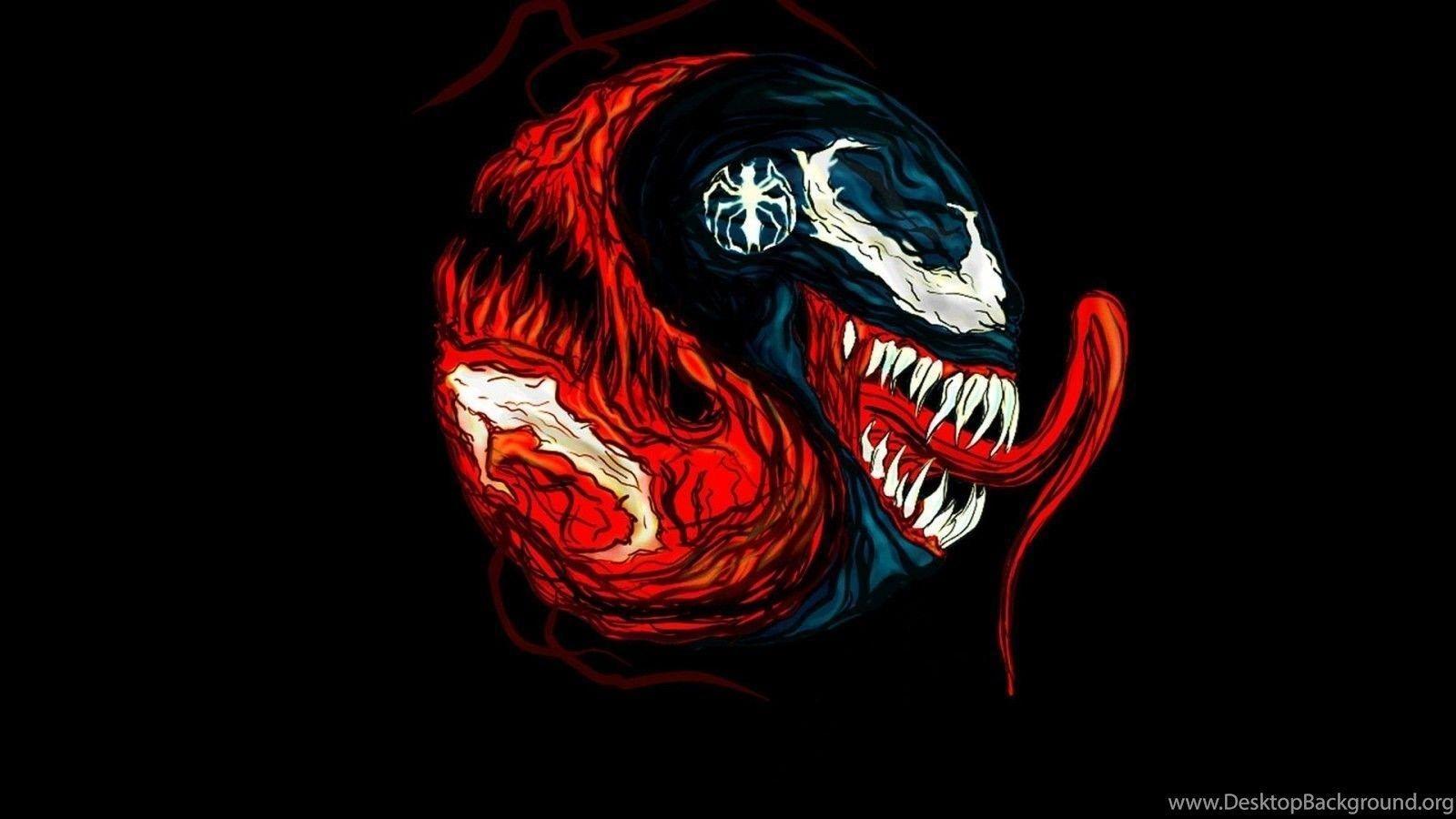 Venom Vs Carnage Wallpapers Top Free Venom Vs Carnage Backgrounds