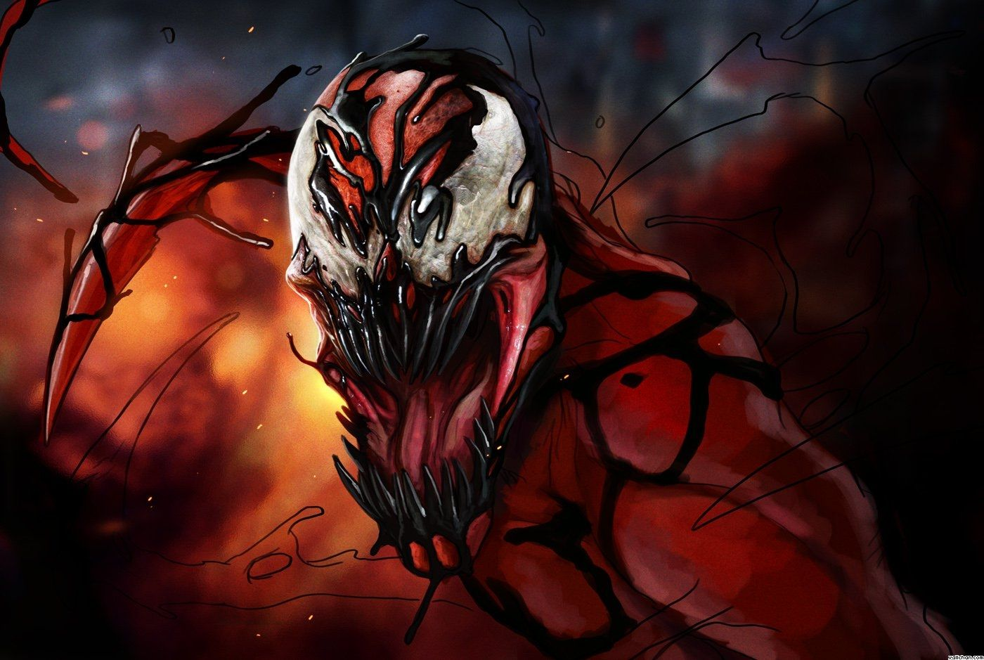 58 Best Free Venom Vs Carnage Wallpapers Wallpaperaccess