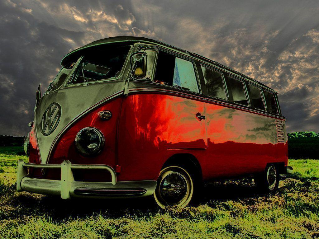Vw Bus Wallpapers Top Free Vw Bus Backgrounds Wallpaperaccess