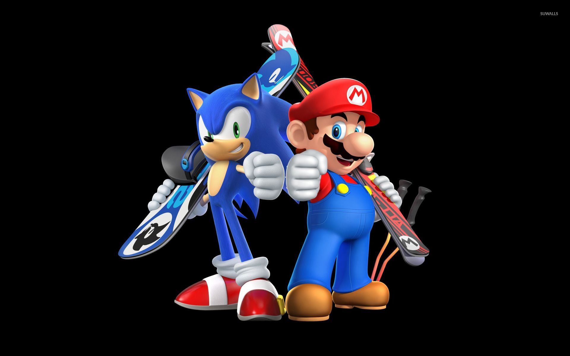 Mario And Sonic Wallpapers Top Free Mario And Sonic Backgrounds Wallpaperaccess