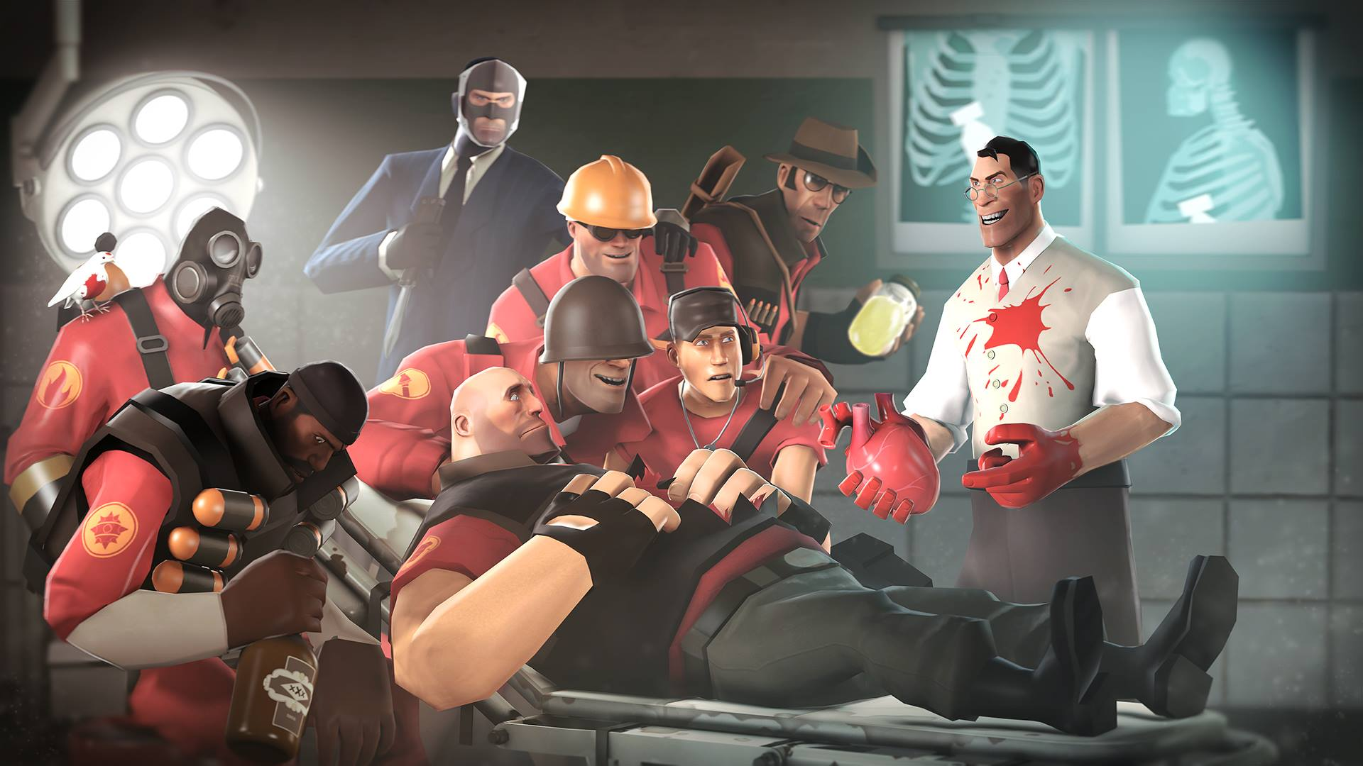 Team Fortress 2 Wallpapers Top Free Team Fortress 2 Backgrounds